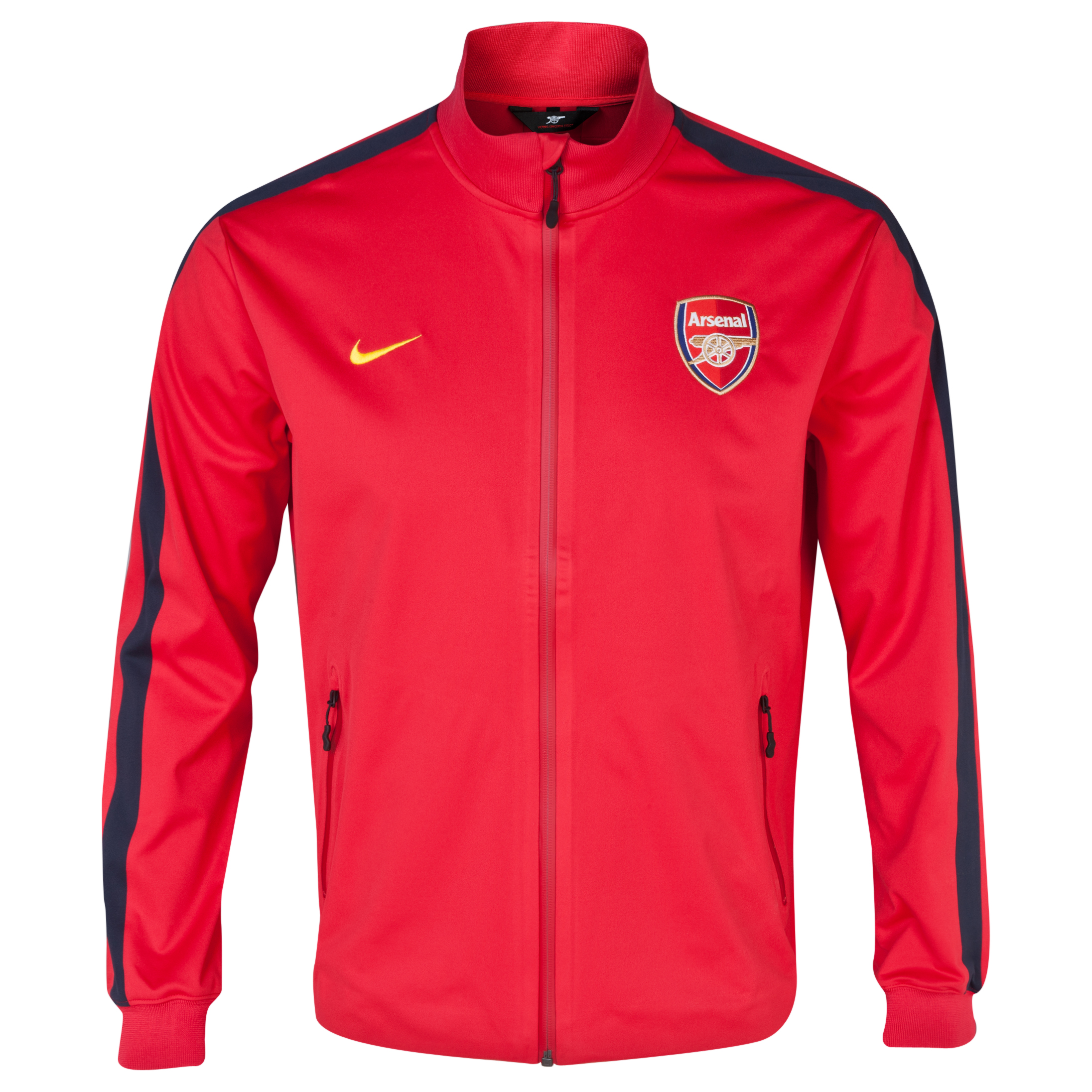 Arsenal Authentic UEFA Champions League N98 Jacket Red