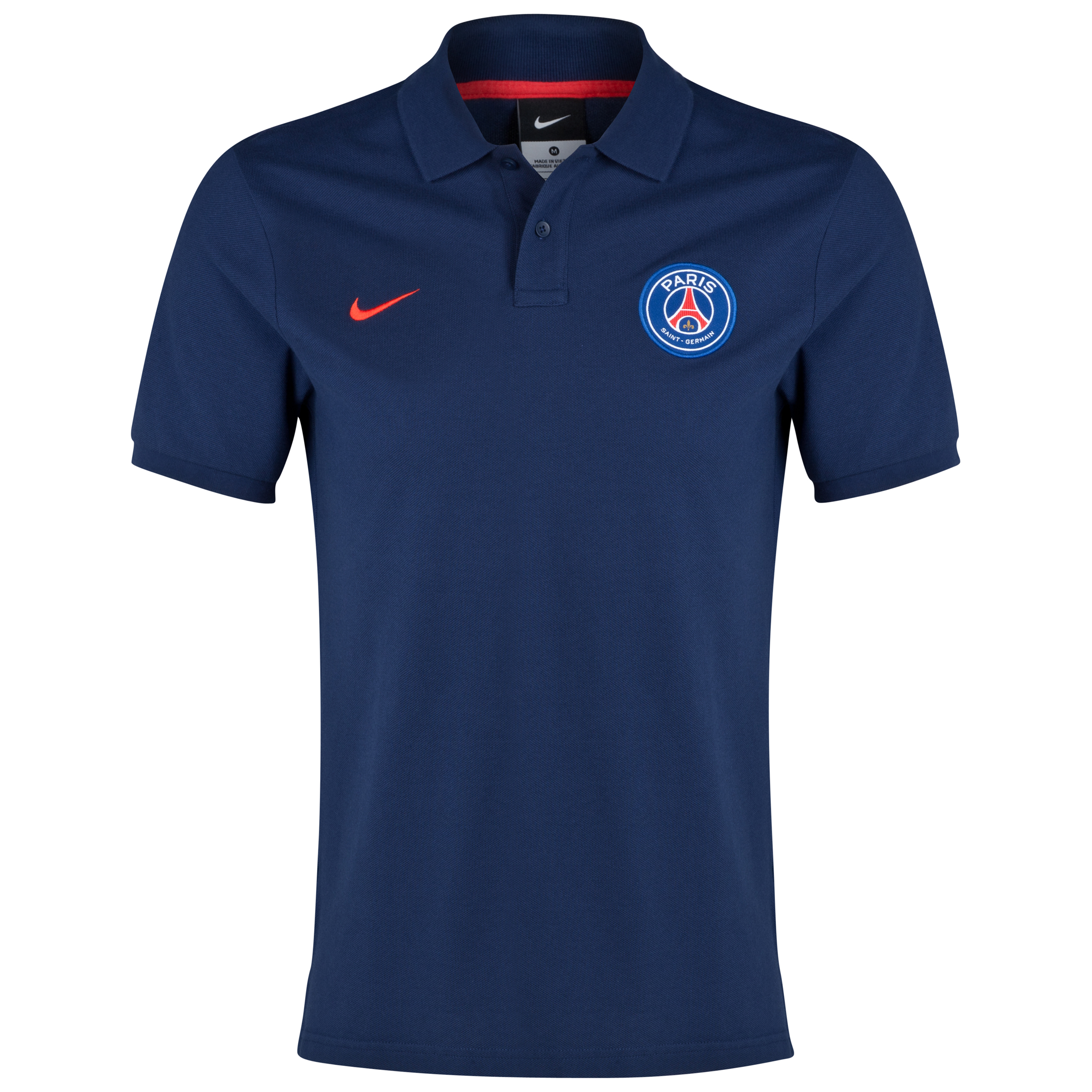 Paris Saint-Germain Authentic Grand Slam Polo Navy