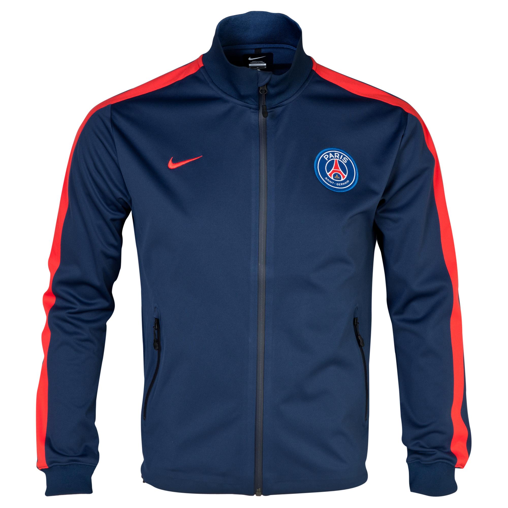 Paris Saint-Germain Authentic UEFA Champions League N98 Jacket Navy