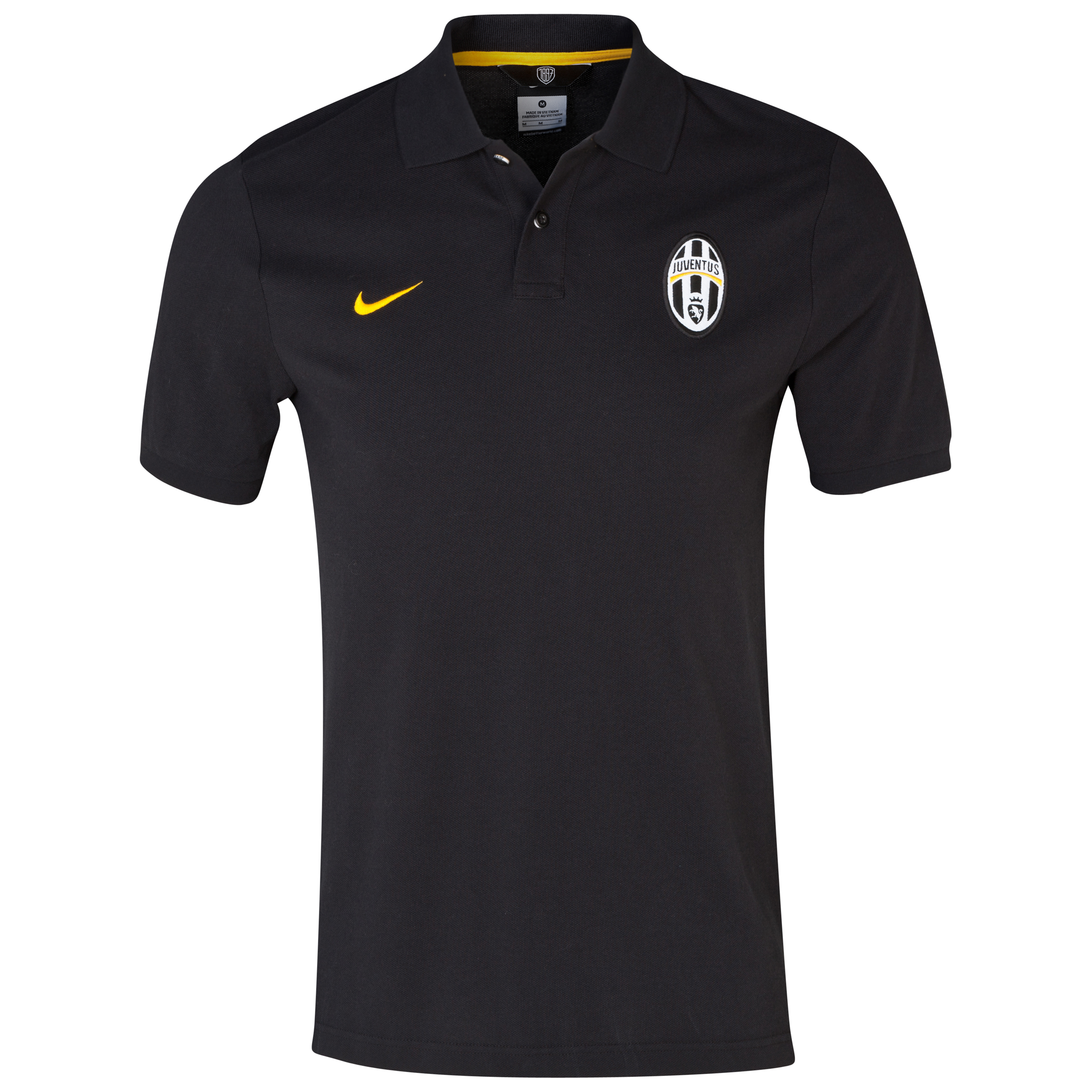Juventus Authentic Grand Slam Polo Black