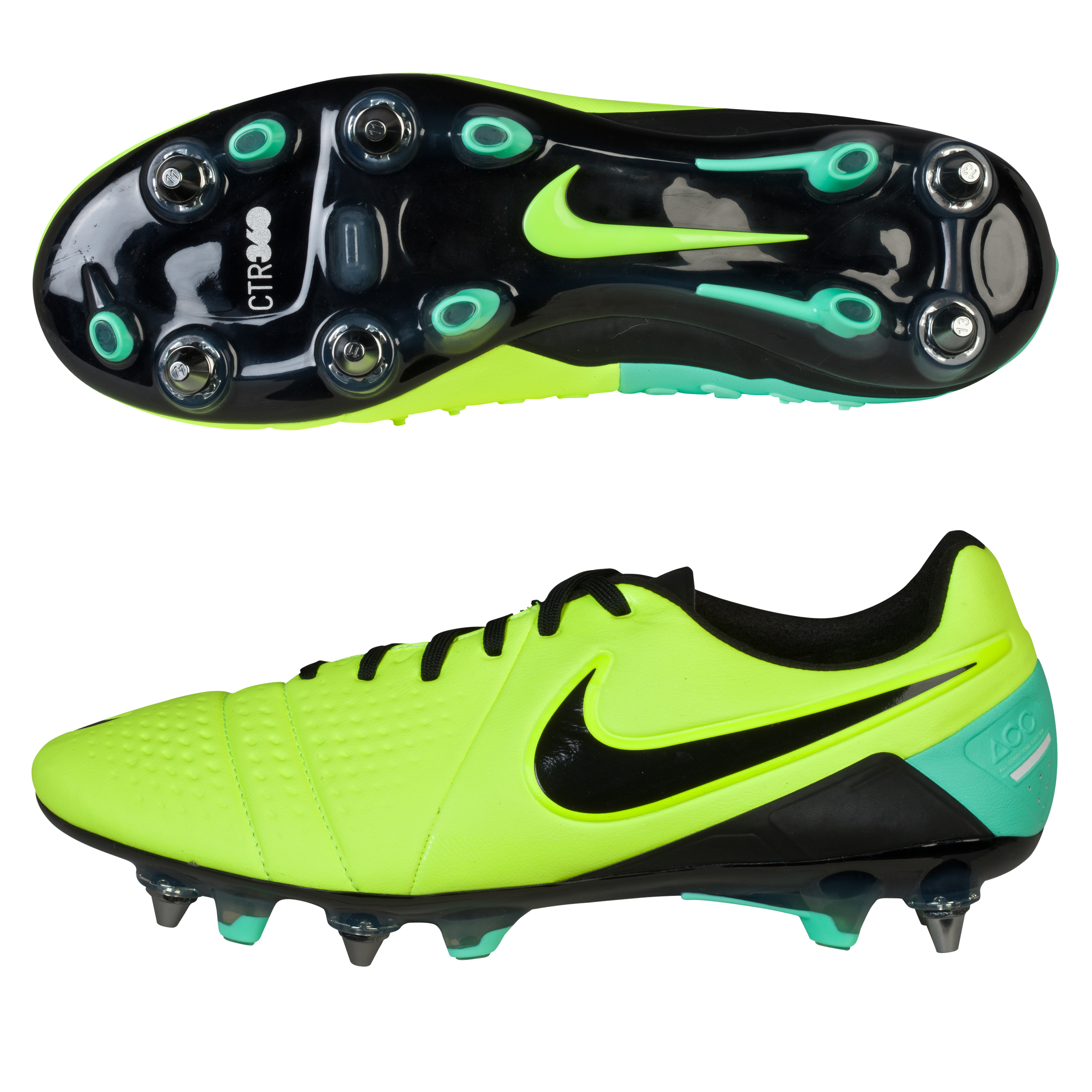 Nike CTR360 Maestri III Soft Ground-Pro Football Boots Yellow