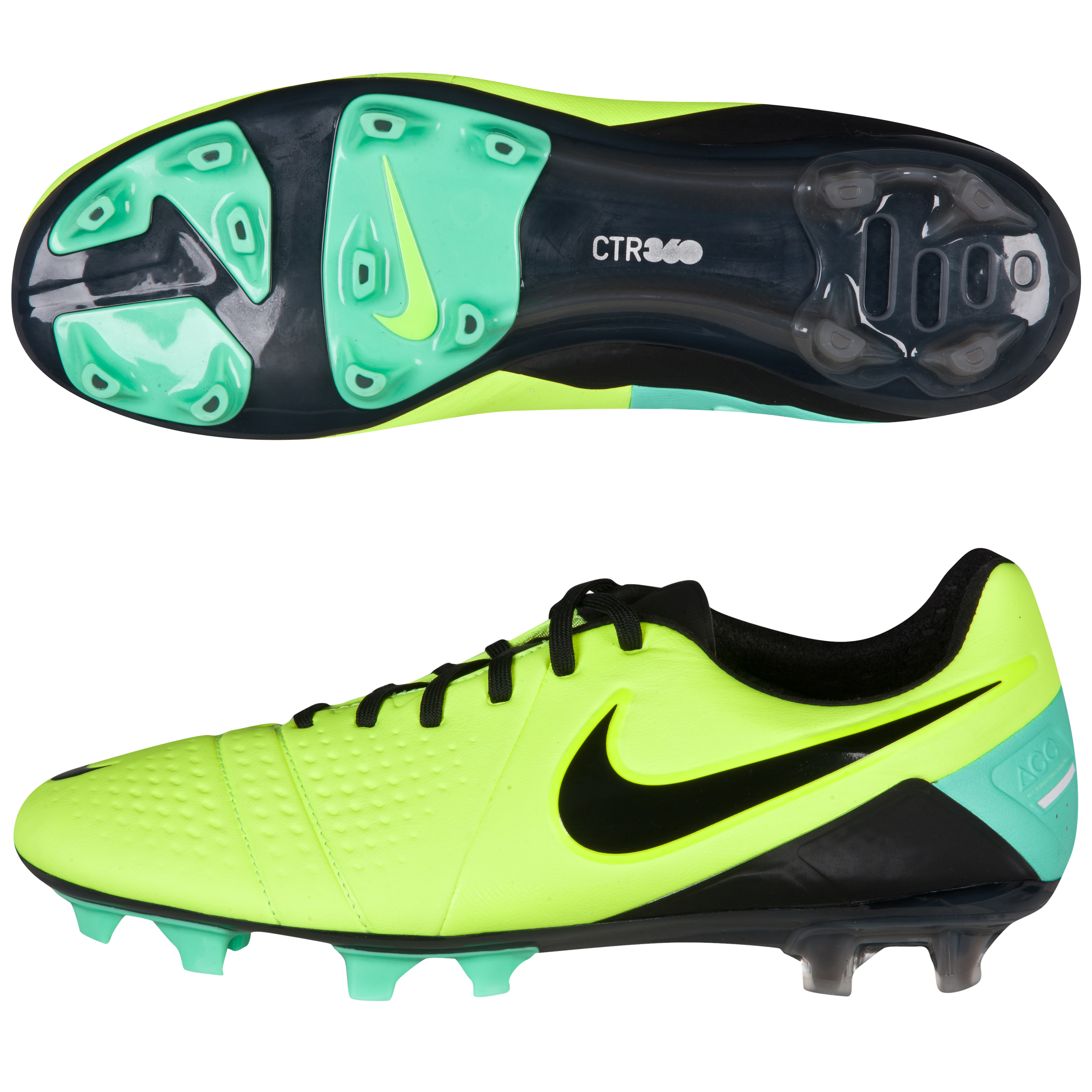 Nike CTR360 Maestri III Firm Ground Football Boots Yellow