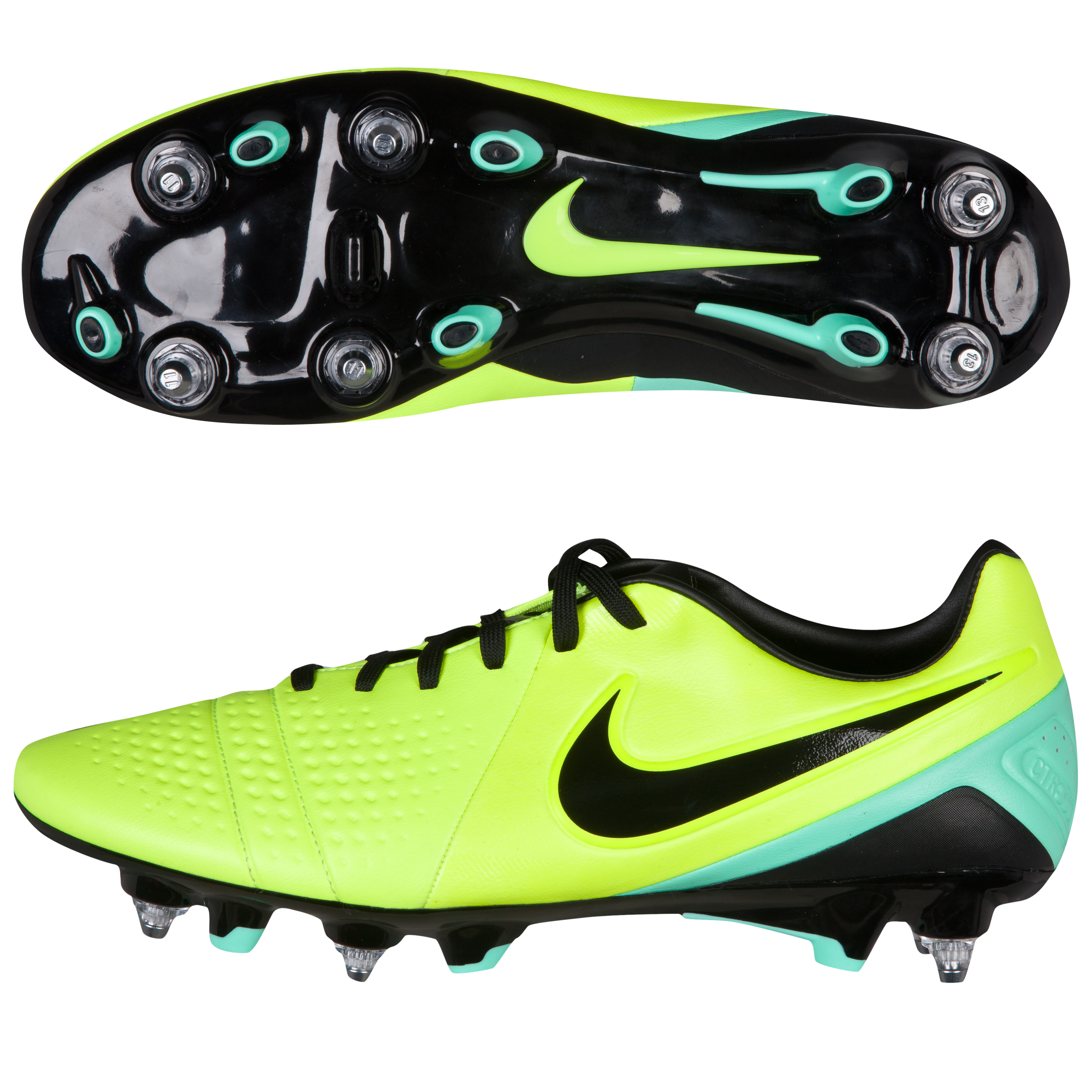 Nike CTR360 Trequrtsta 3 Soft Ground-Pro Football Boots Yellow