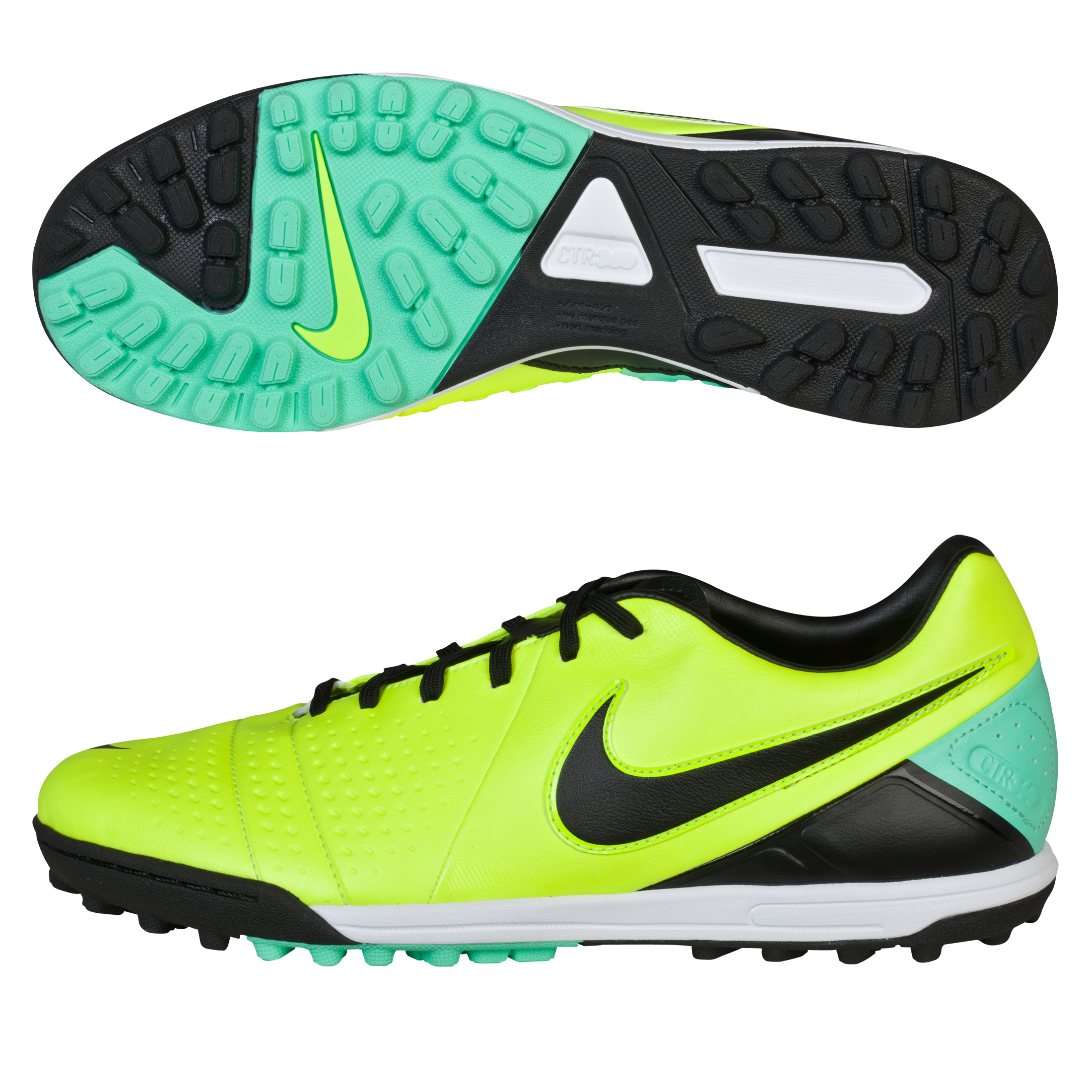 Nike CTR360 Libretto III Astroturf Trainers Yellow