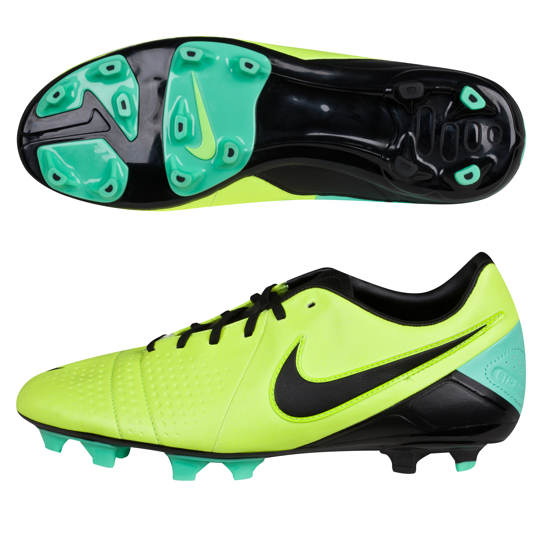 Nike CTR360 Libretto III Firm Ground Football Boots Yellow
