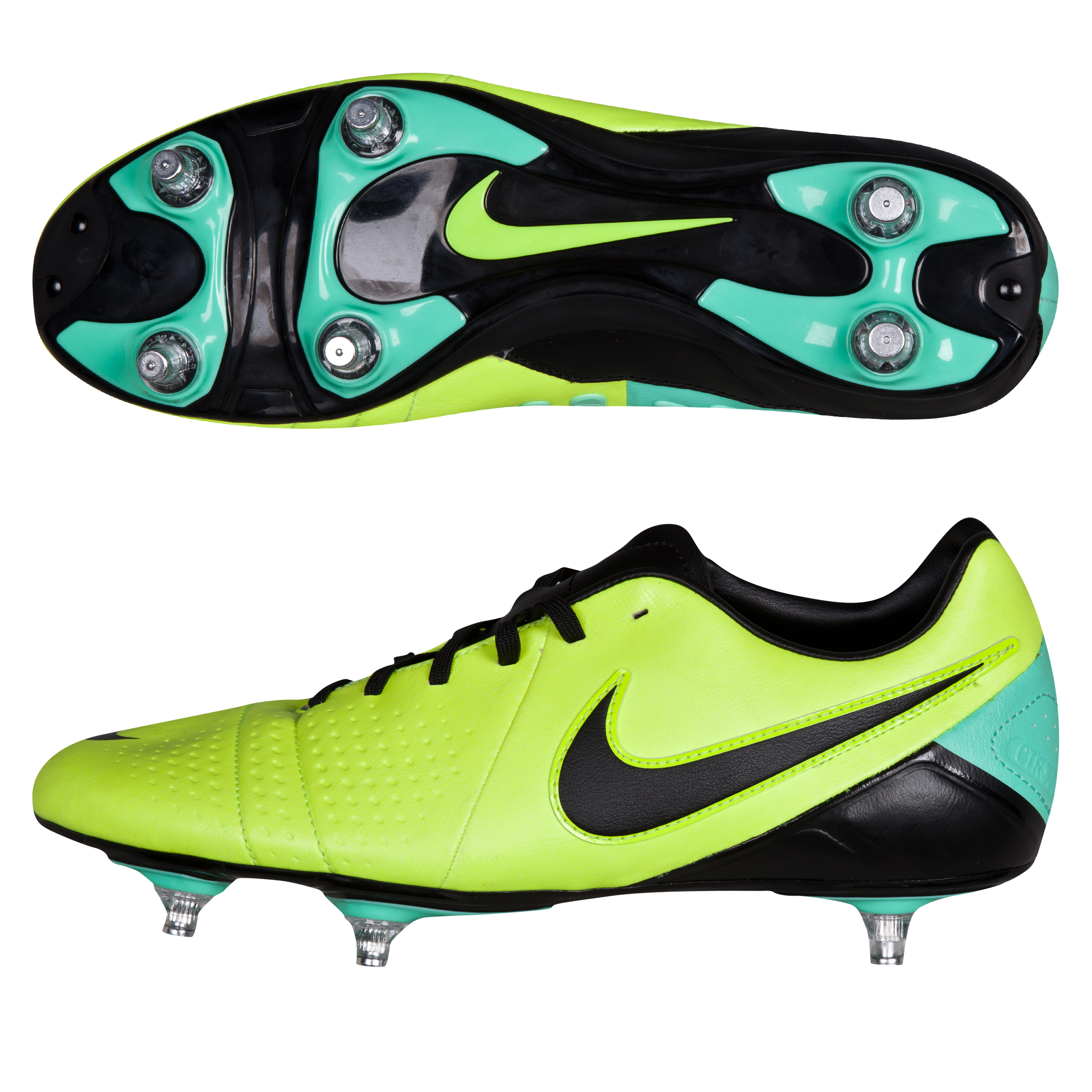 Nike CTR360 Libretto III Soft Ground Football Boots Yellow