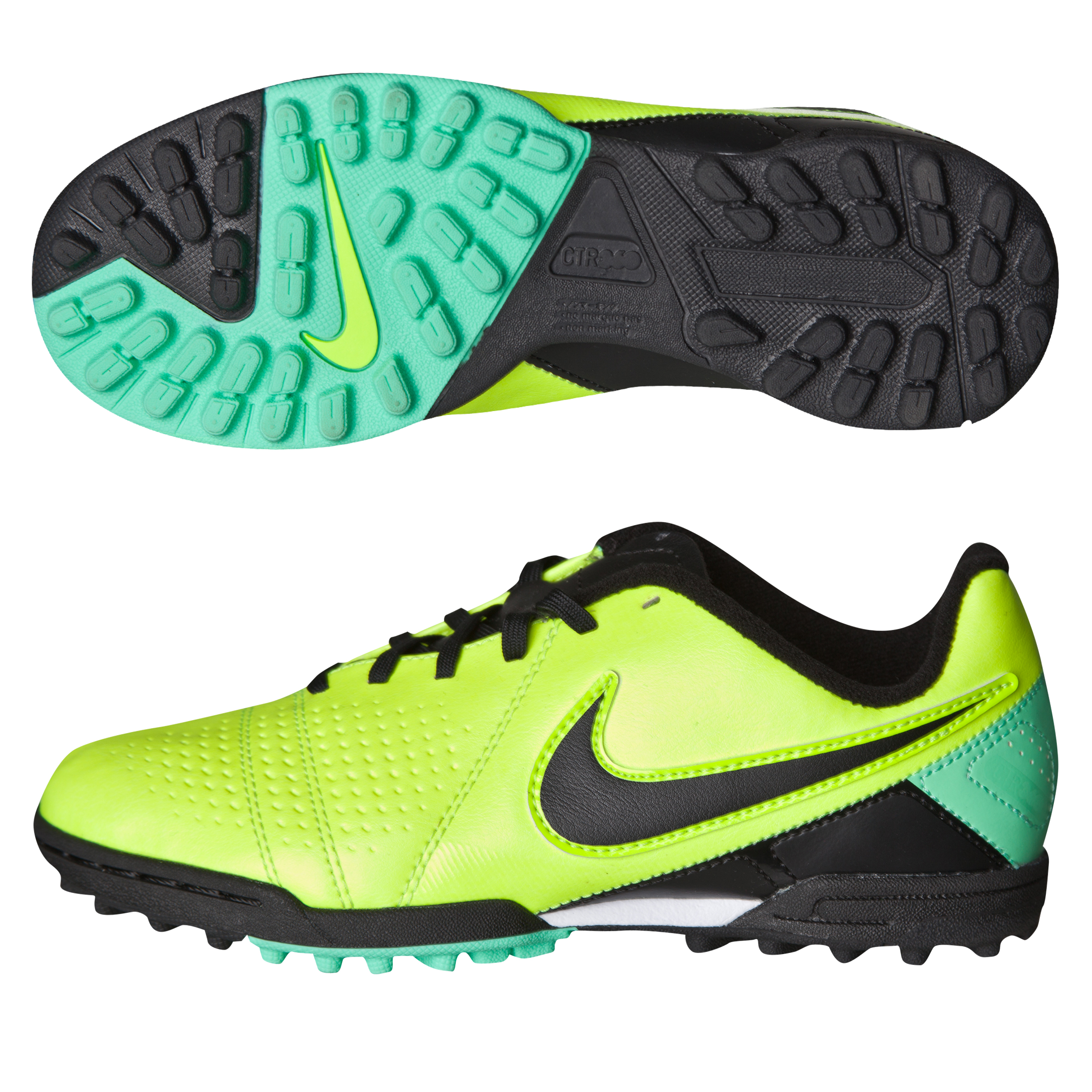 Nike CTR360 Libretto III Astroturf Trainers - Kids Yellow