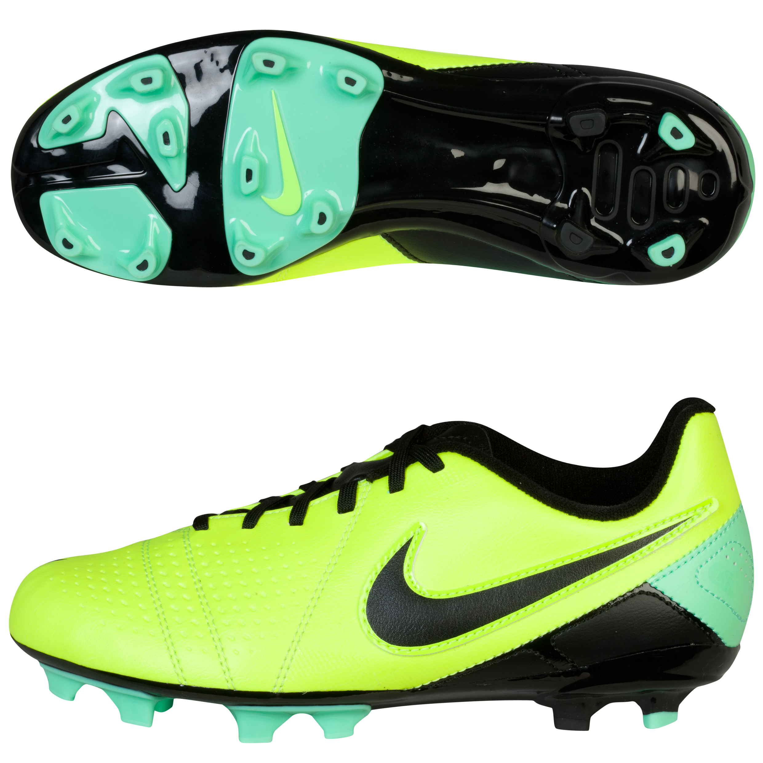 Nike CTR360 Libretto III Firm Ground Football Boots - Kids Yellow