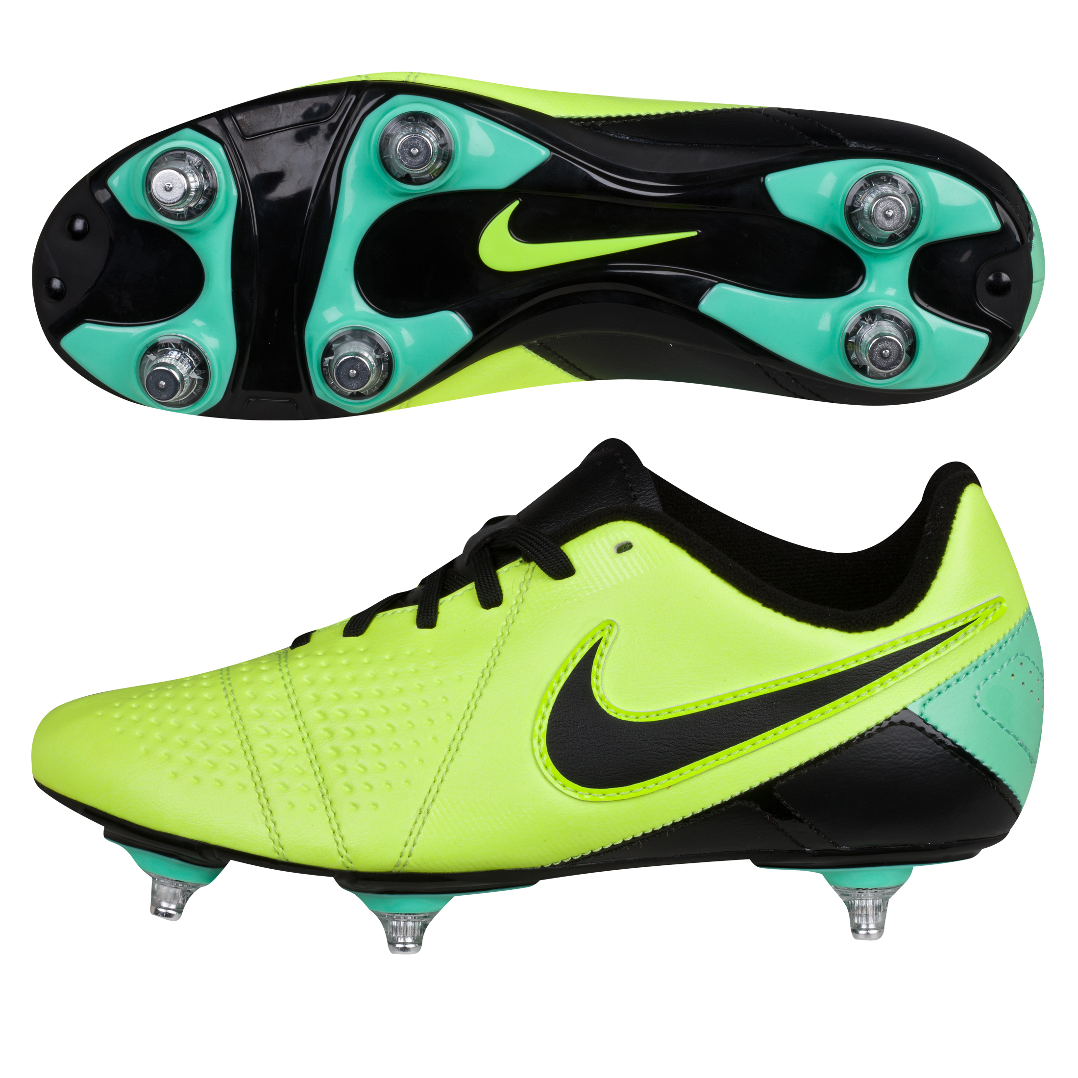 Nike CTR360 Libretto III Soft Ground Football Boots - Kids Yellow