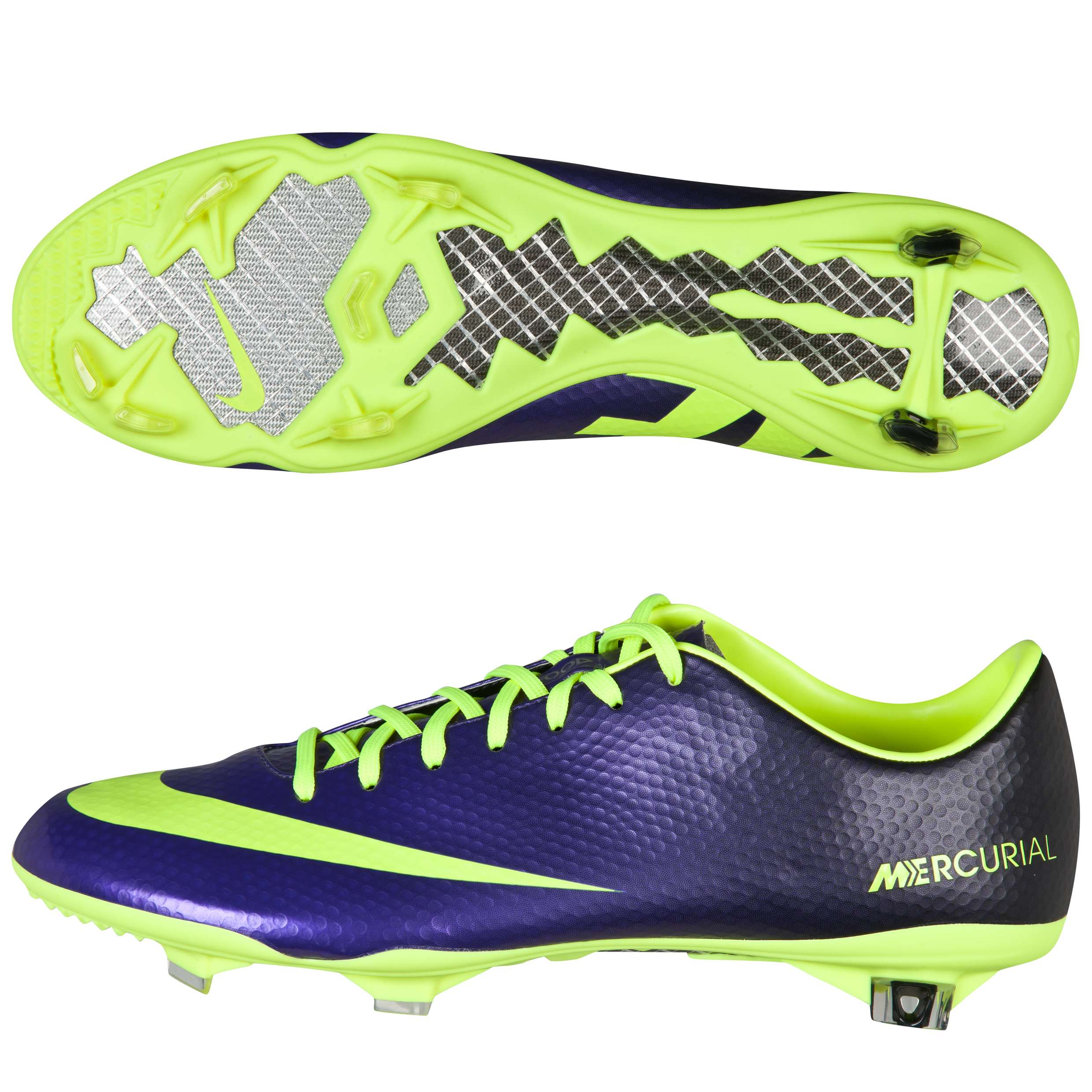 Nike Mercurial Vapor Ix Firm Ground Football Boots Purple