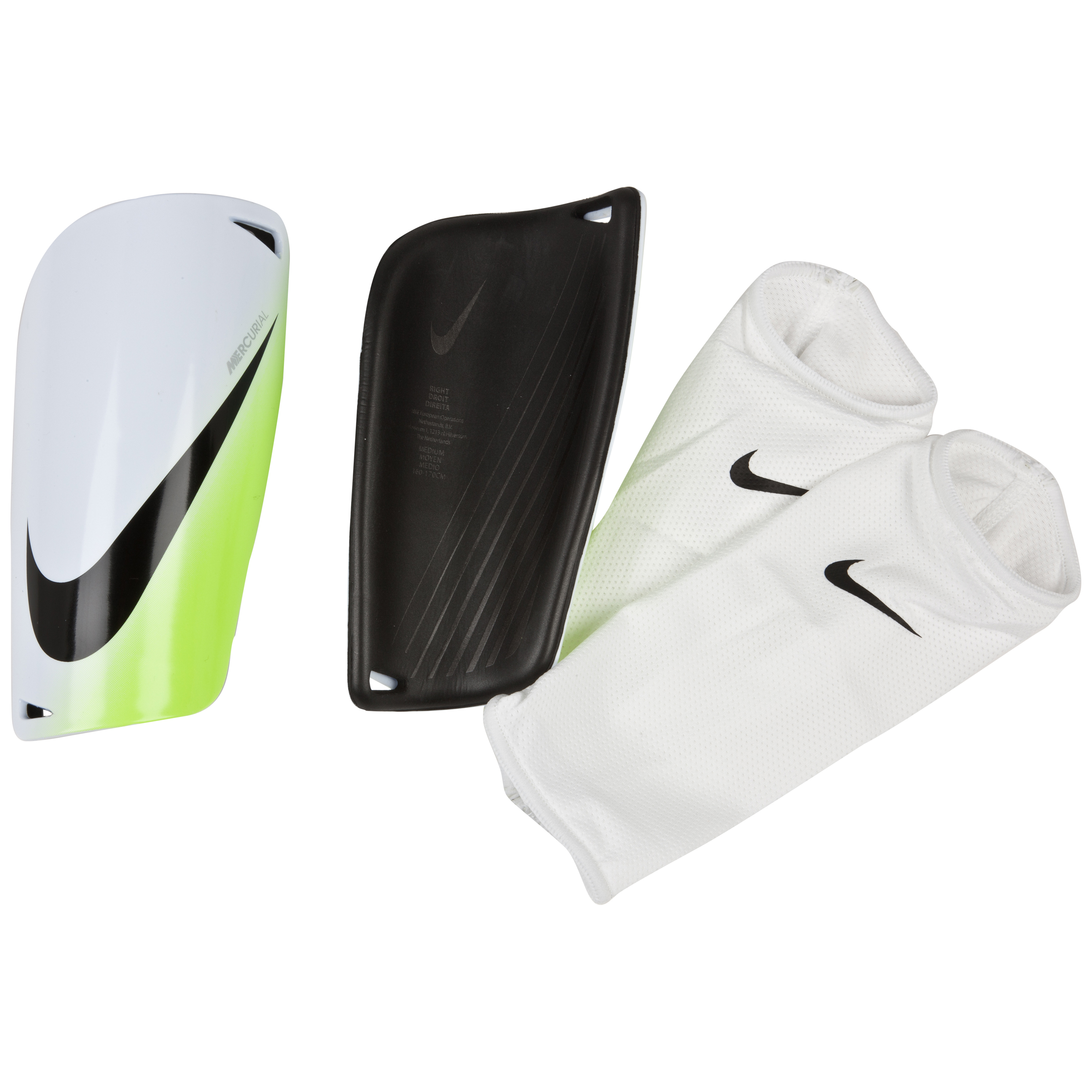 Nike Mercurial Lite Shinguards White