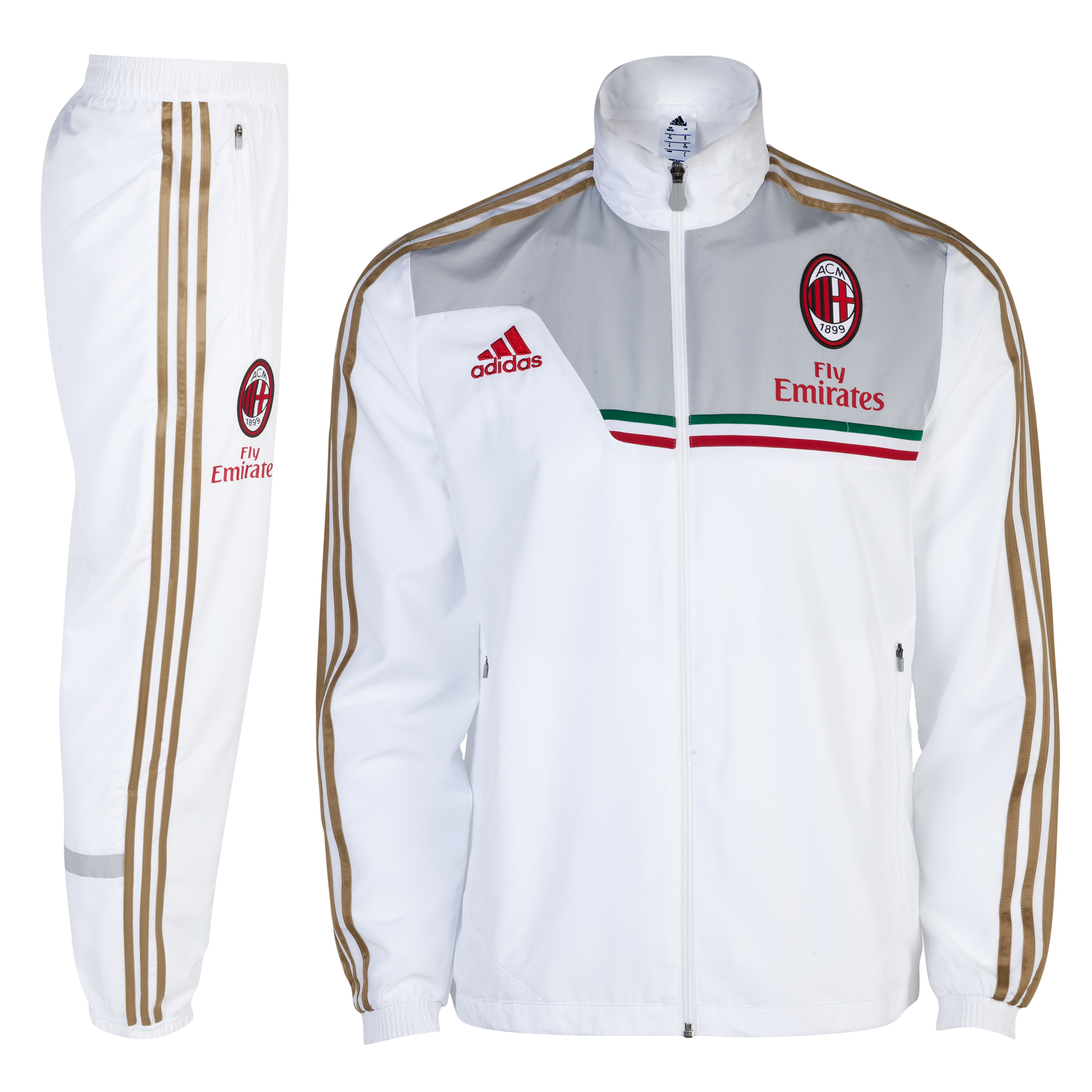 AC Milan Training Presentation Suit White