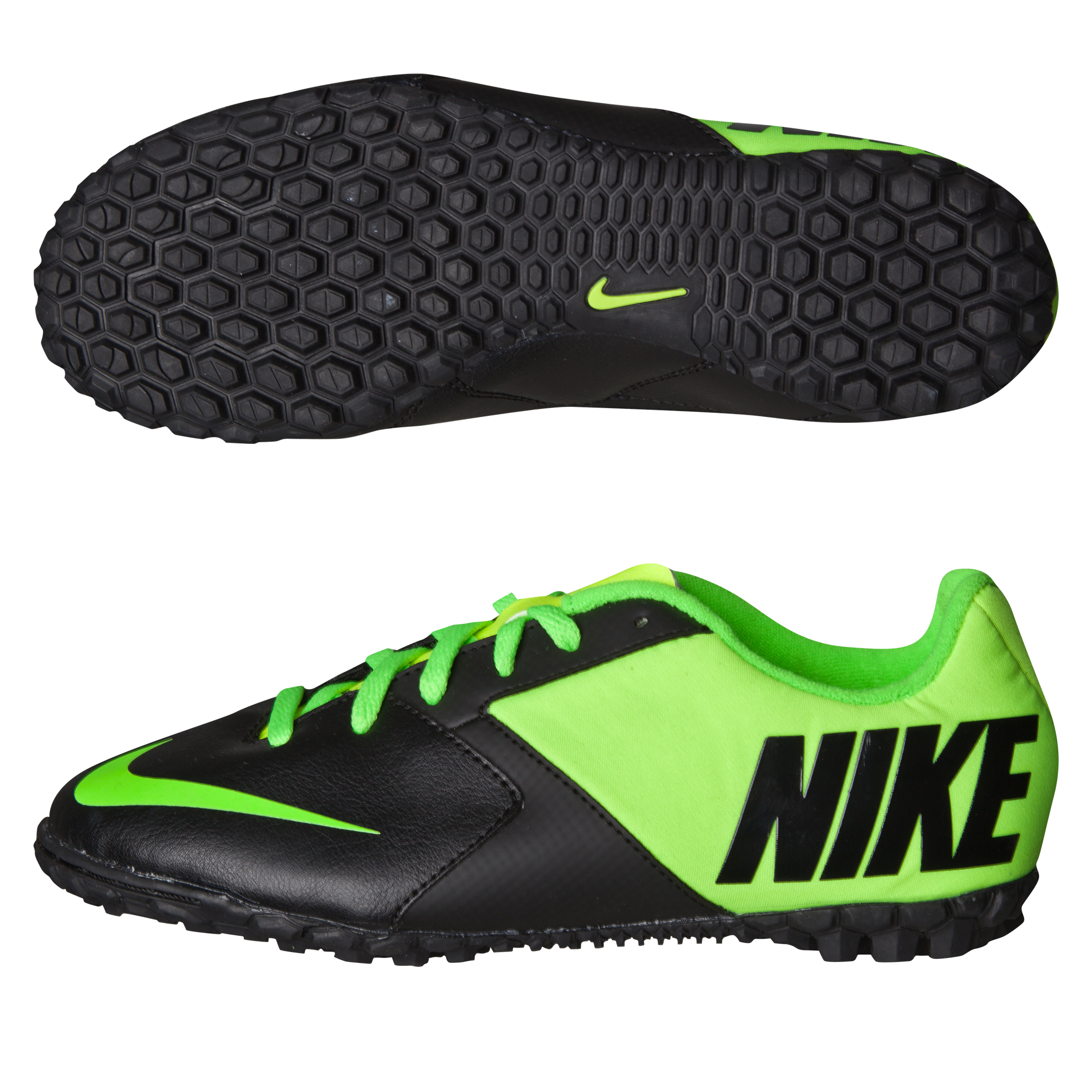 Nike Bomba II Trainers - Kids -Black/Electric Green/Volt Black
