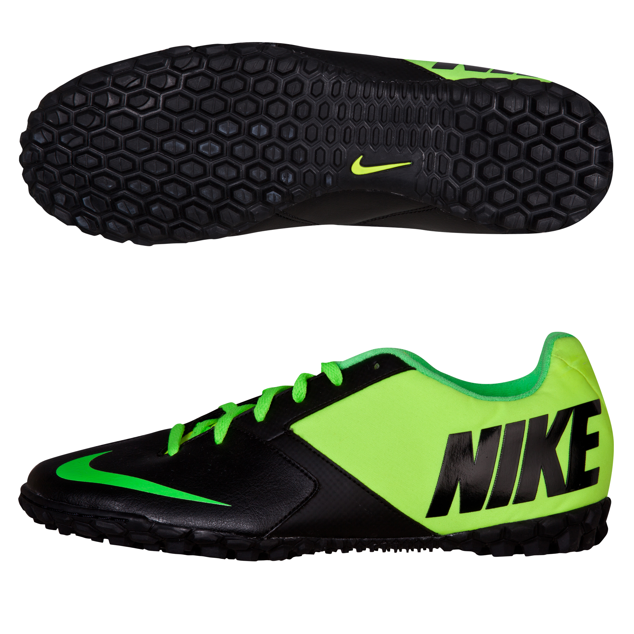 Nike Bomba II Trainers - Black/Electric Green/Volt Black