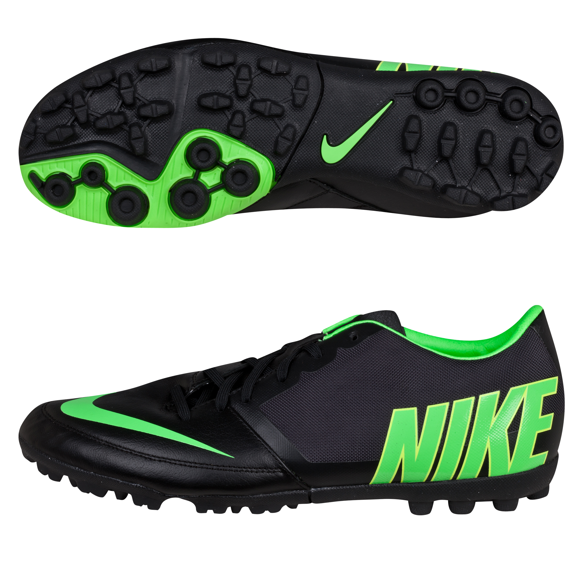 Nike Bomba Pro II Trainers-Black/Electric Green/Dark Charcoal Black