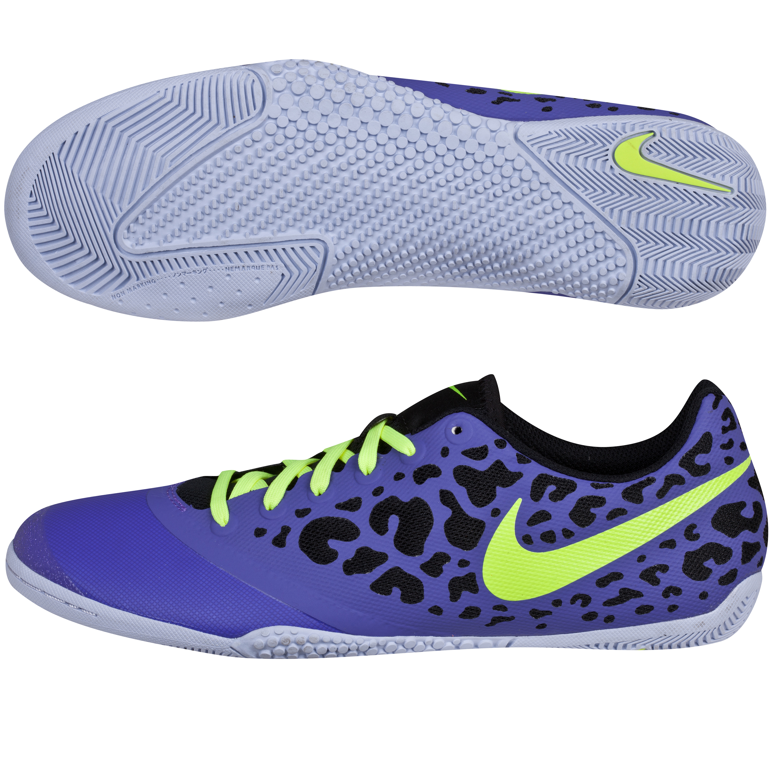 Nike Elastico Pro II Trainers-Pure Purple/Volt/Plst Purple/Black Purple