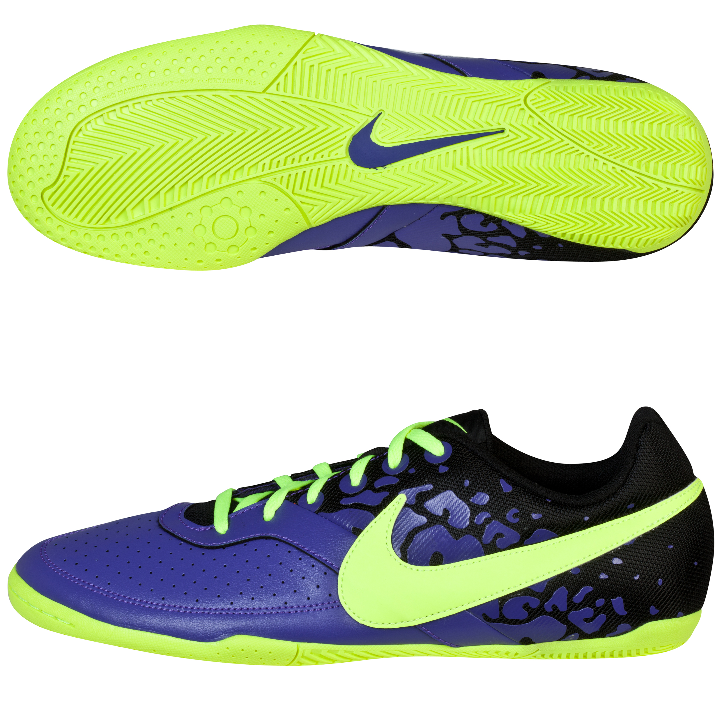 Nike Elastico II Trainers-Pure Purple/Volt/Black Purple