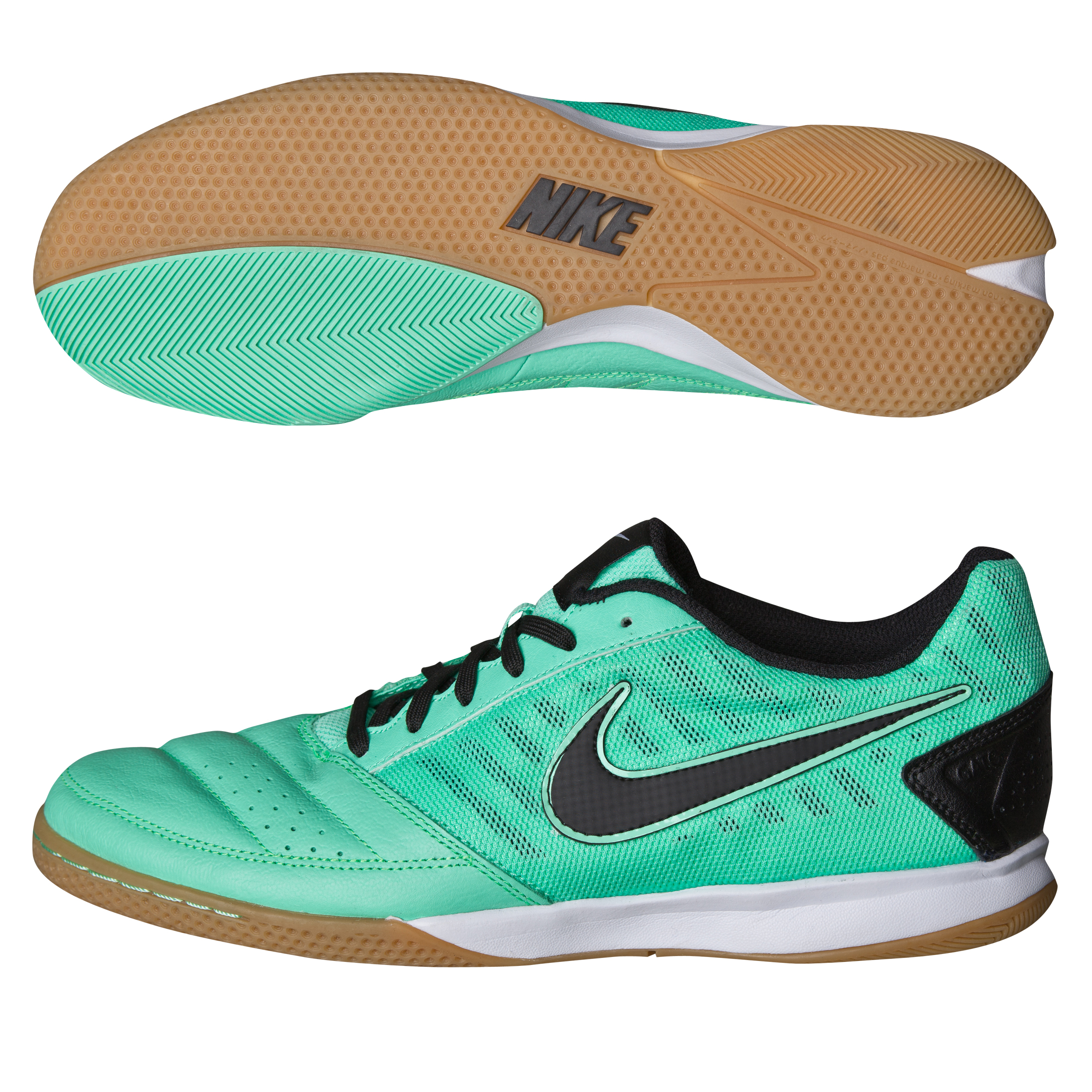 Nike Gato II Trainers - Green Glow/Black/White Green