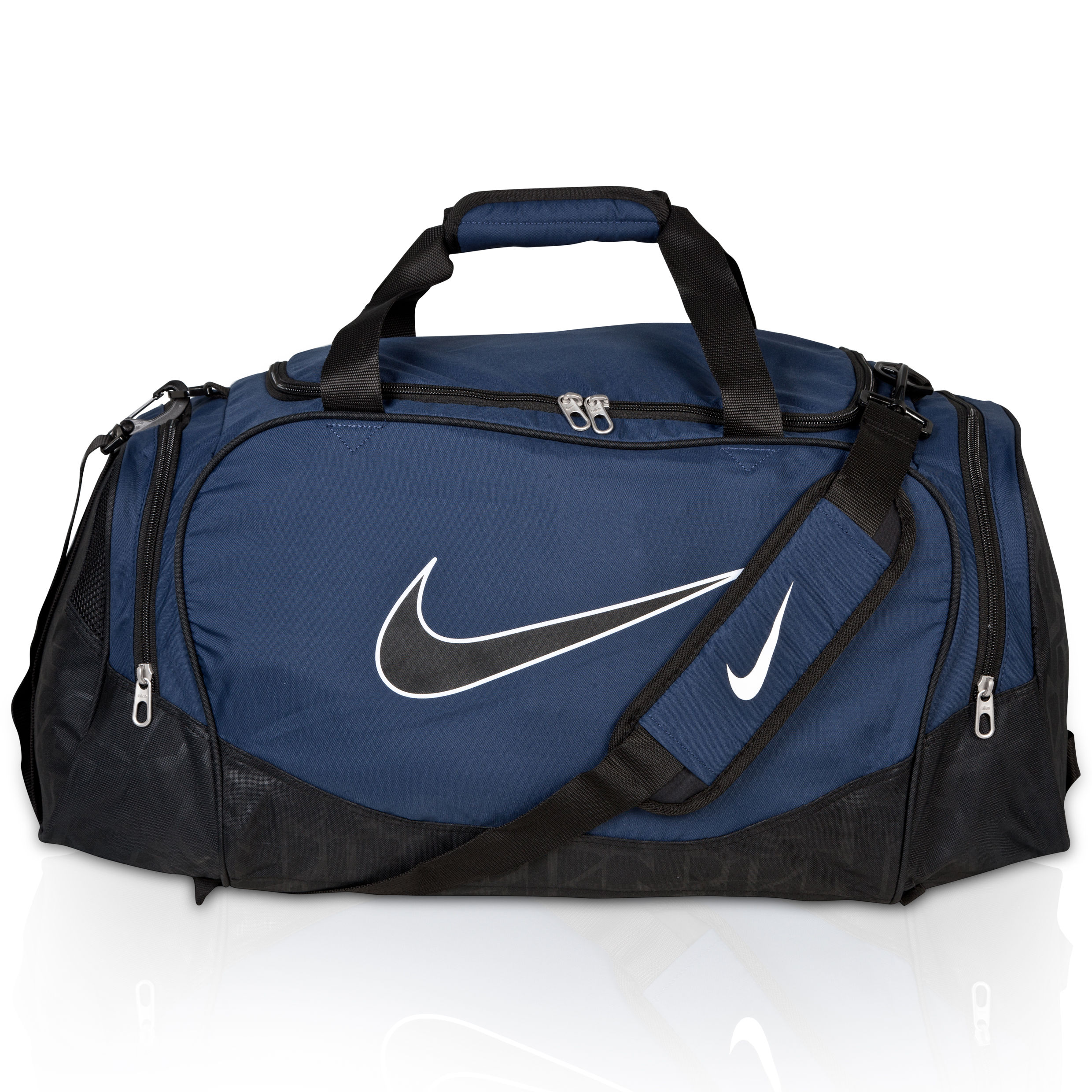 Nike Brasilia 5 Medium Duffel Bag - Midnight Navy/Black/Black Navy