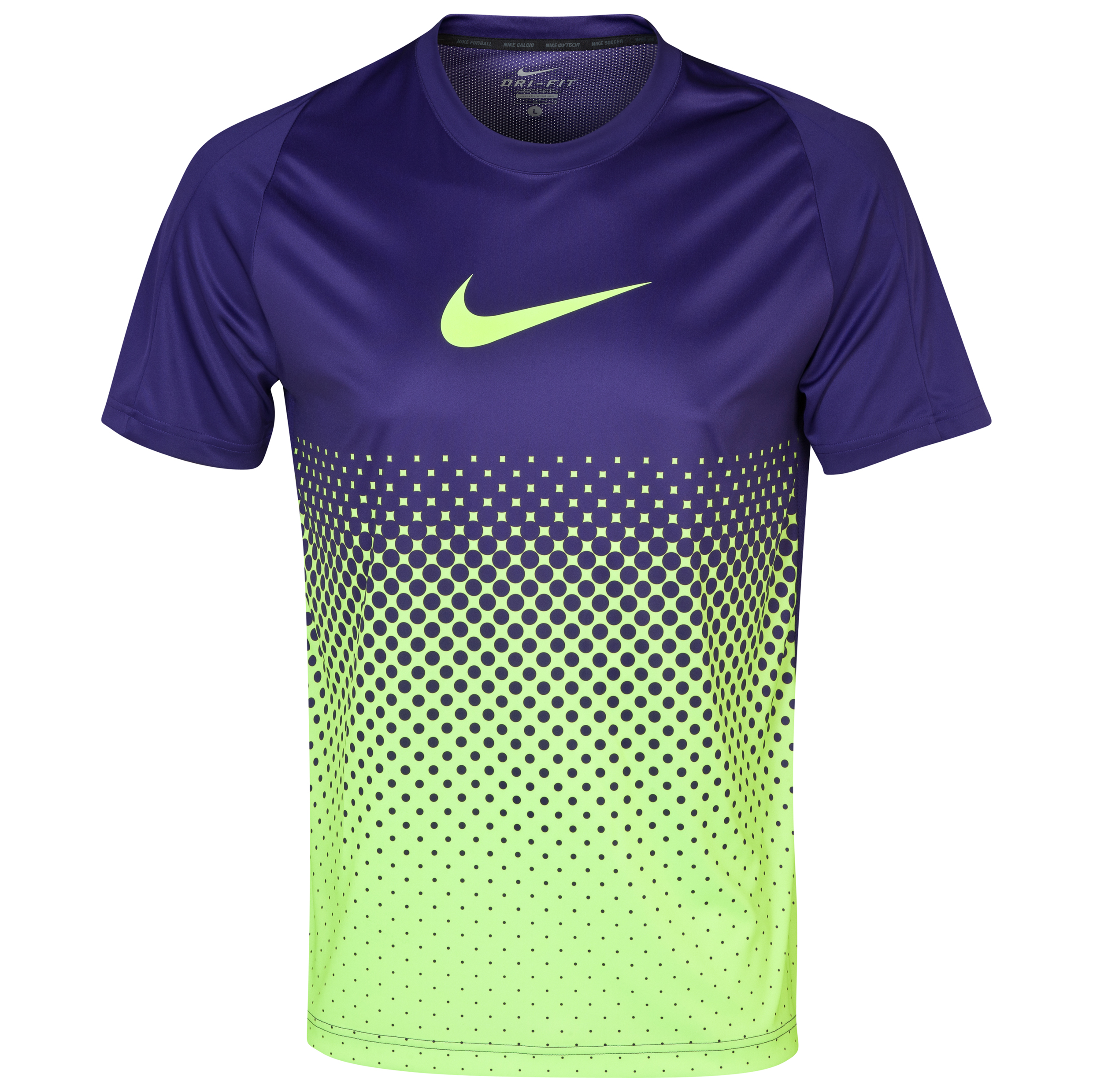 Nike GPX Gradient Training Top - Court Purple/ Volt/Volt Purple