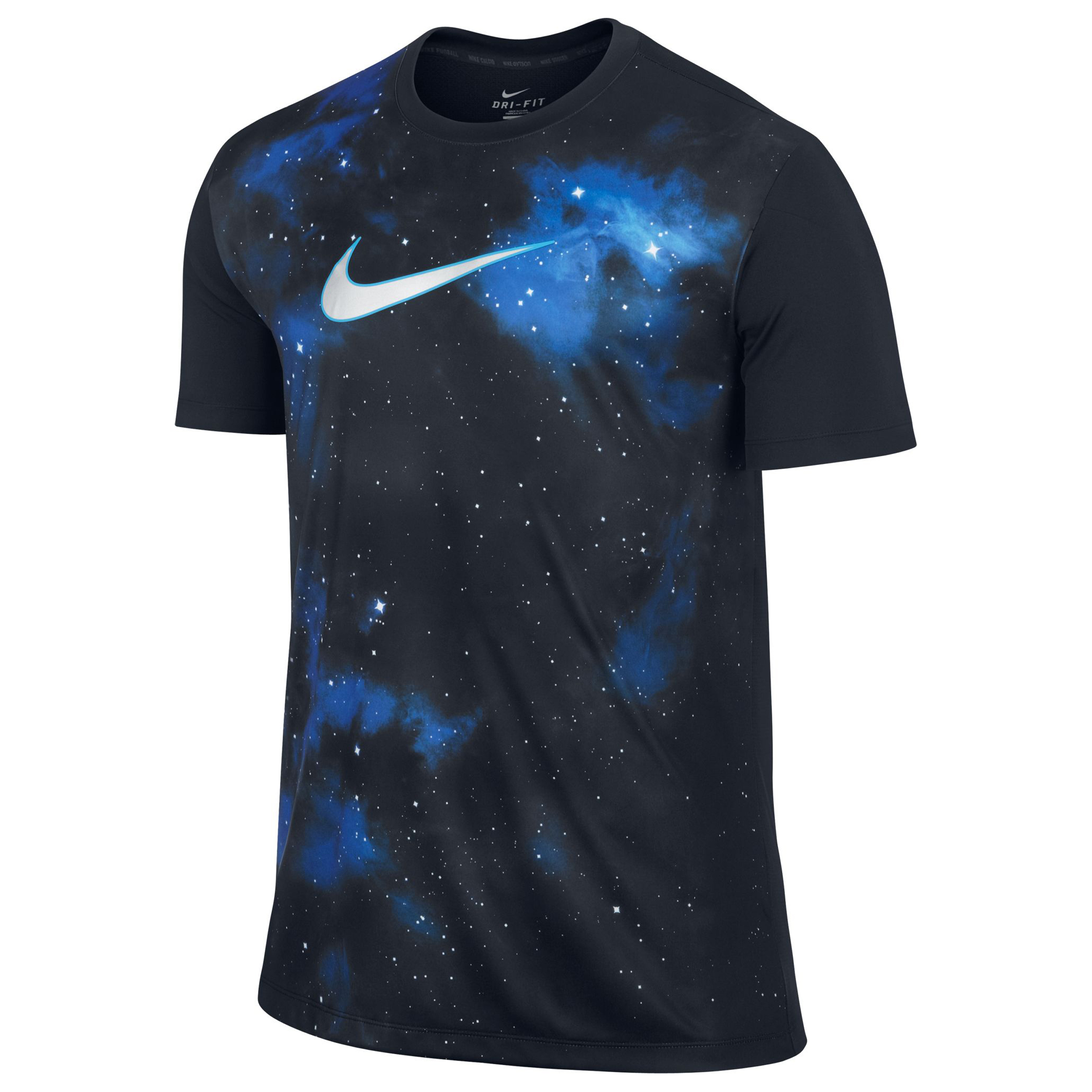 Nike CR Graphic Training Top - Dark Obsidian/Metallic Silver Navy