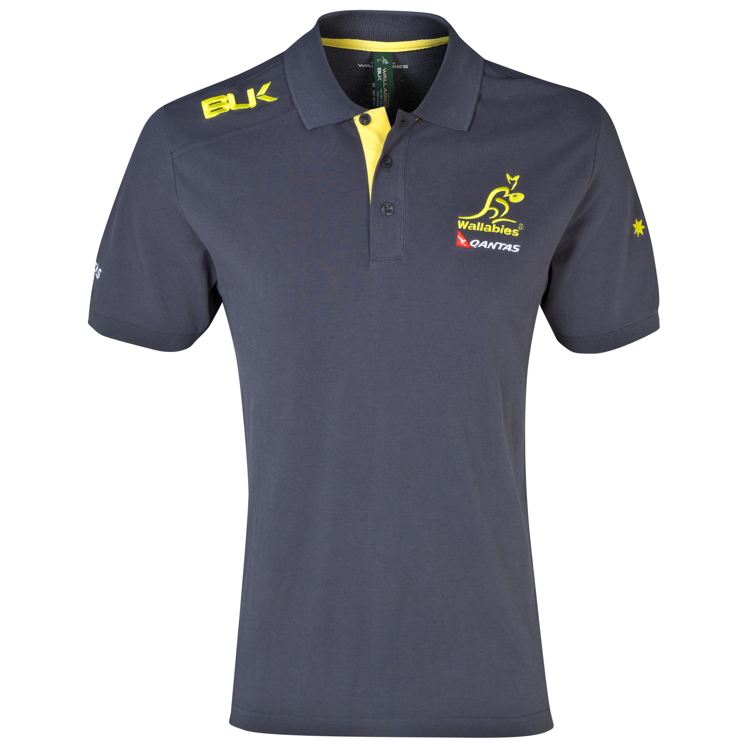 Australia Rugby Union Polo - Green/Gold