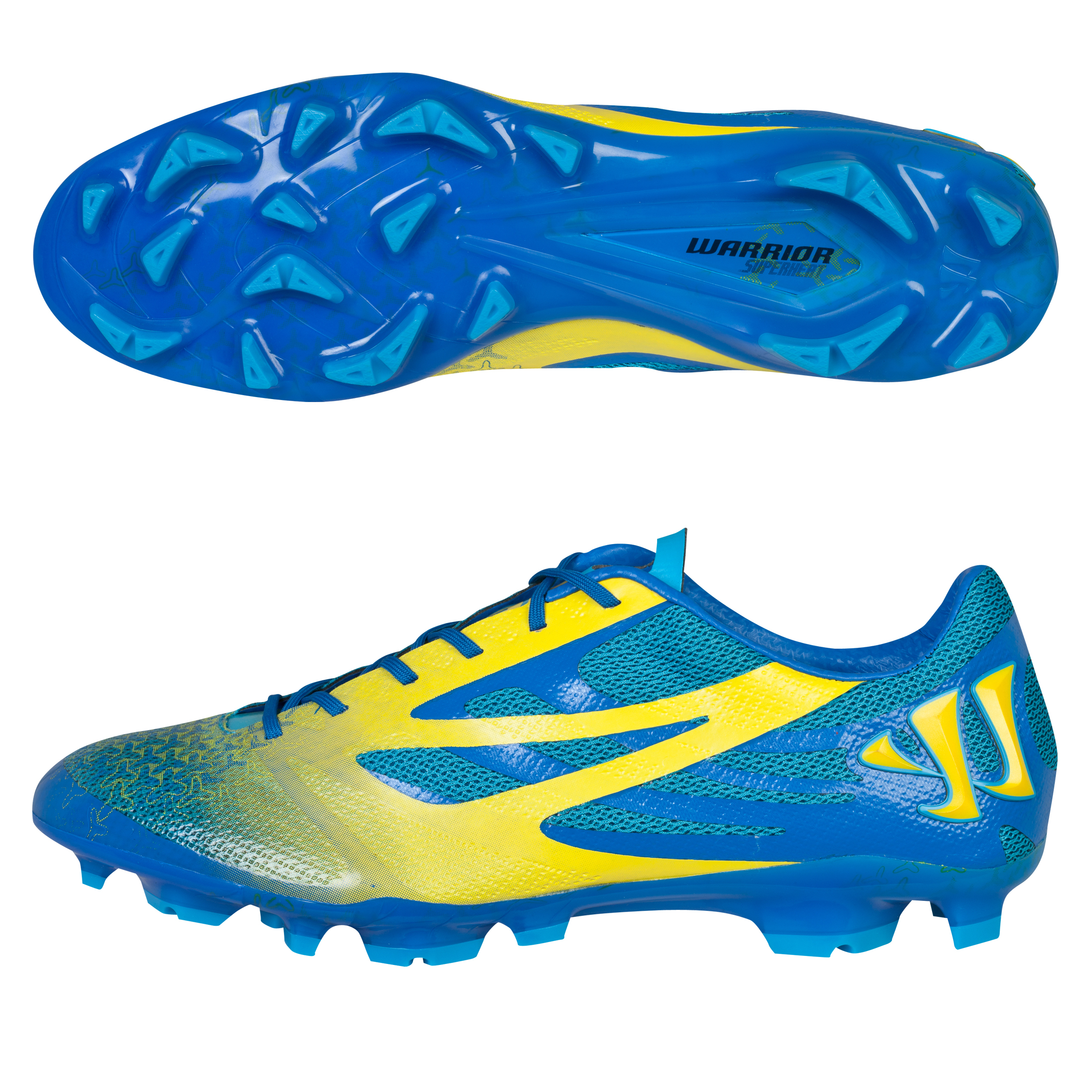 Warrior Superheat S-Lite Firm Ground Football Boots Blue