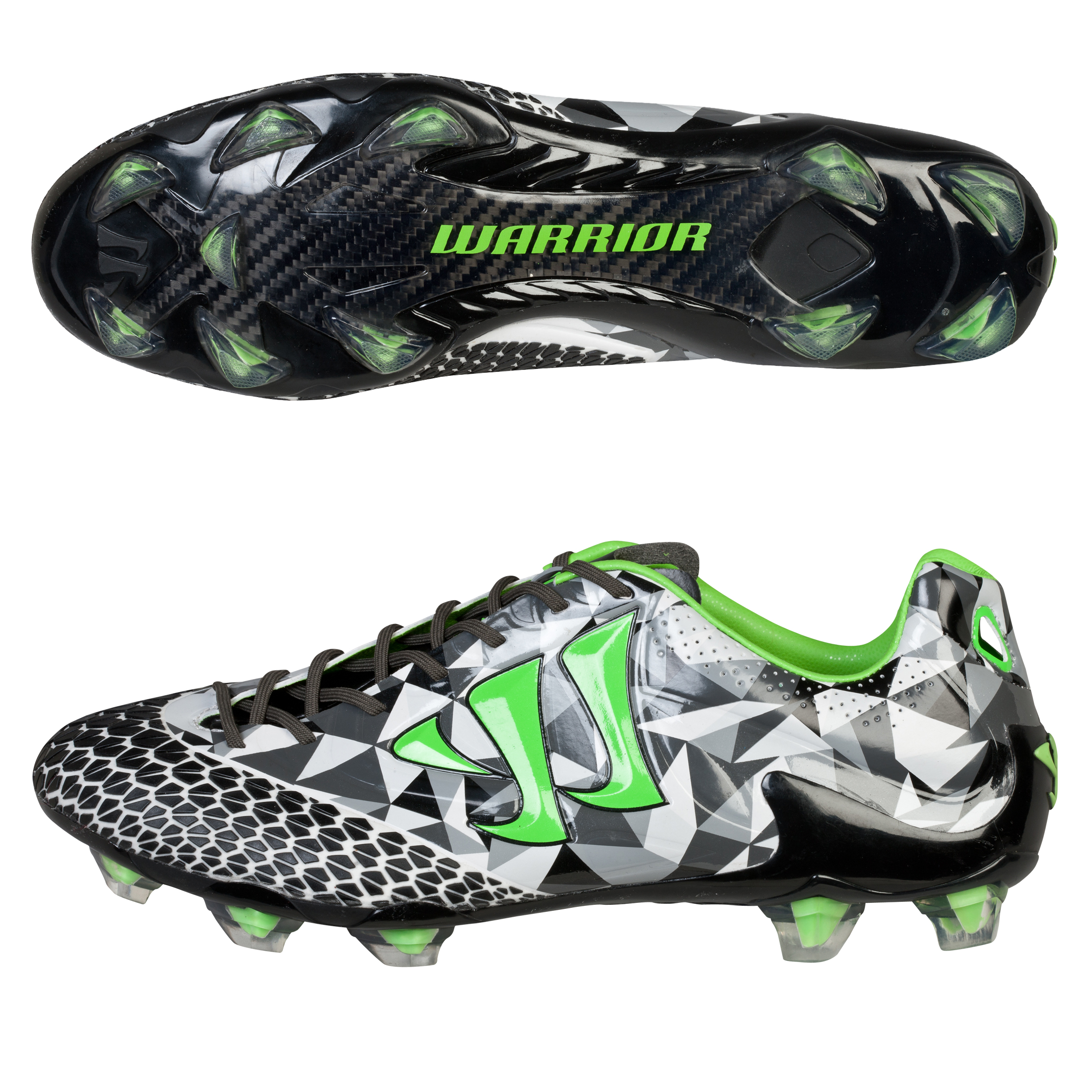 Warrior Skreamer S-Lite Firm Ground Football Boots Grey