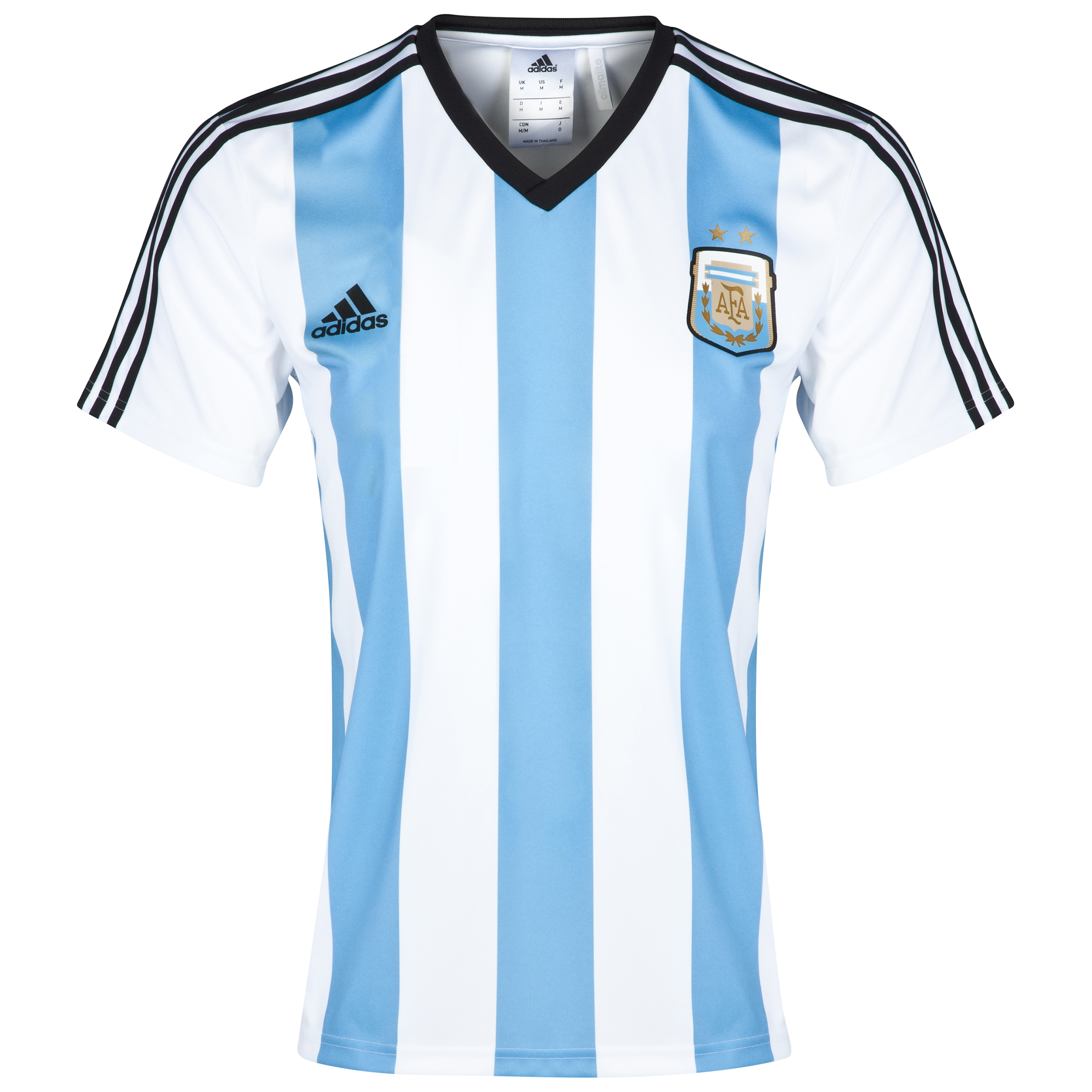 Argentina Home Replica T-Shirt 2014
