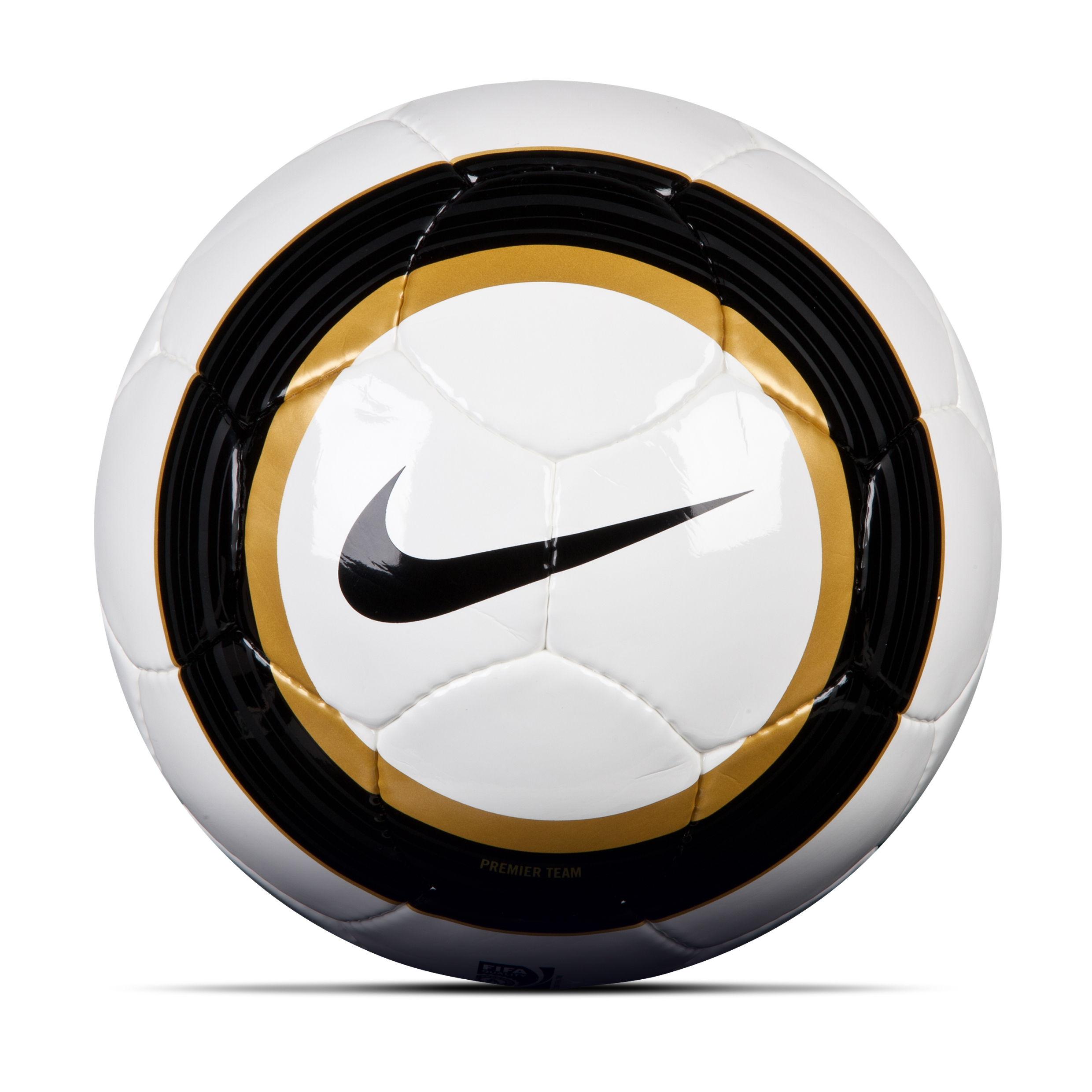 Manchester City Premier Team Football-White/Gold/Black White
