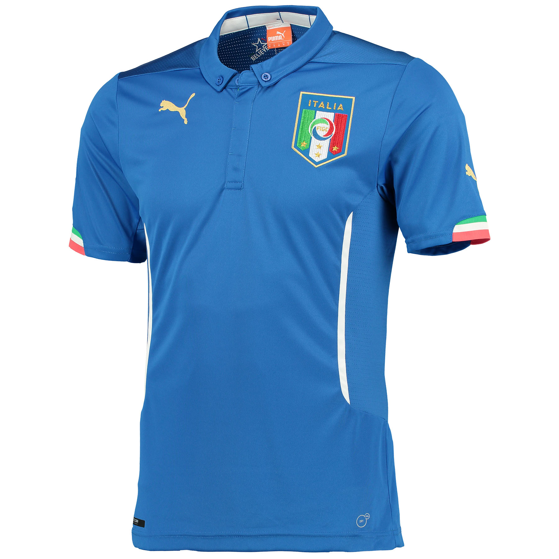 Italy Home Shirt 2013/14 with Baggio 10 printing