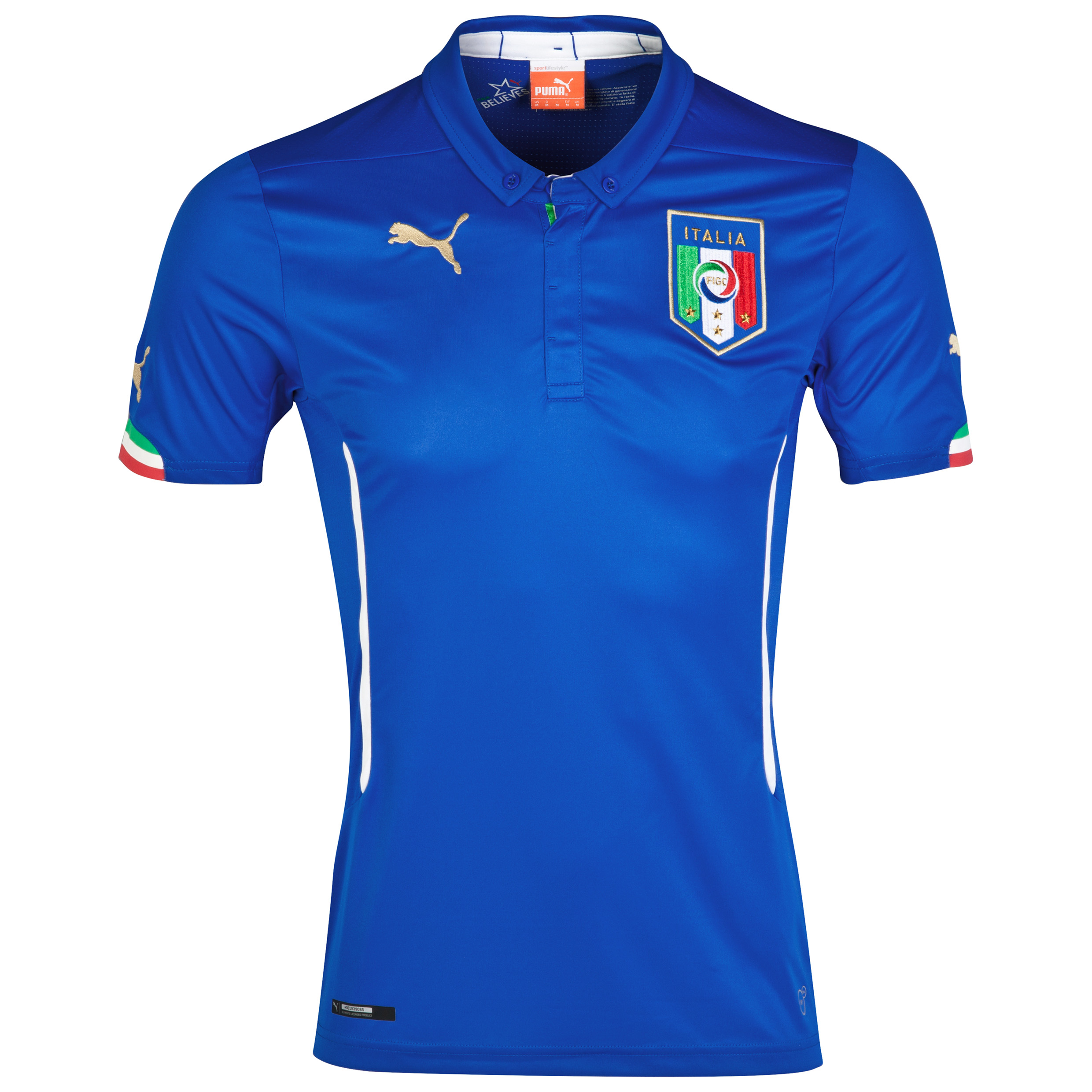 Italy Home Shirt 2014/16 - Kids