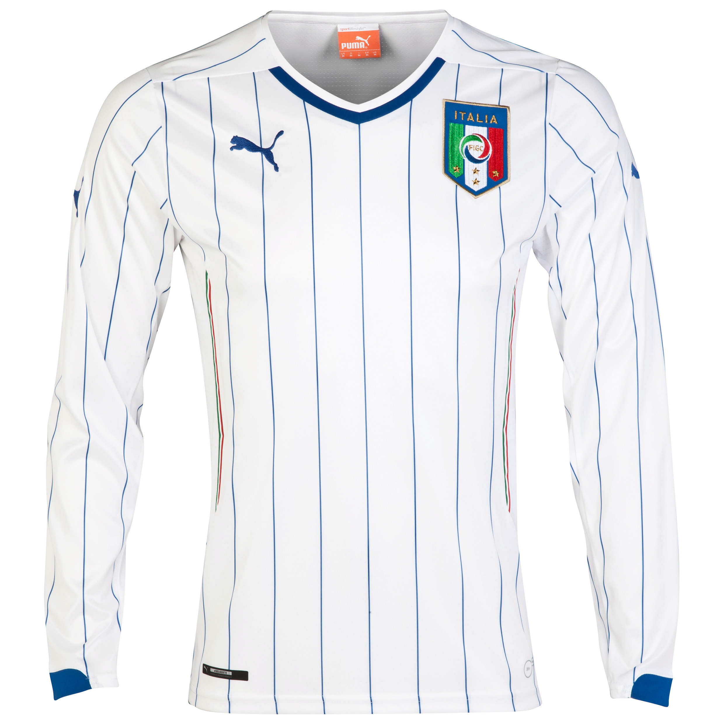 Italy Away Shirt 2014/16 - Long Sleeved