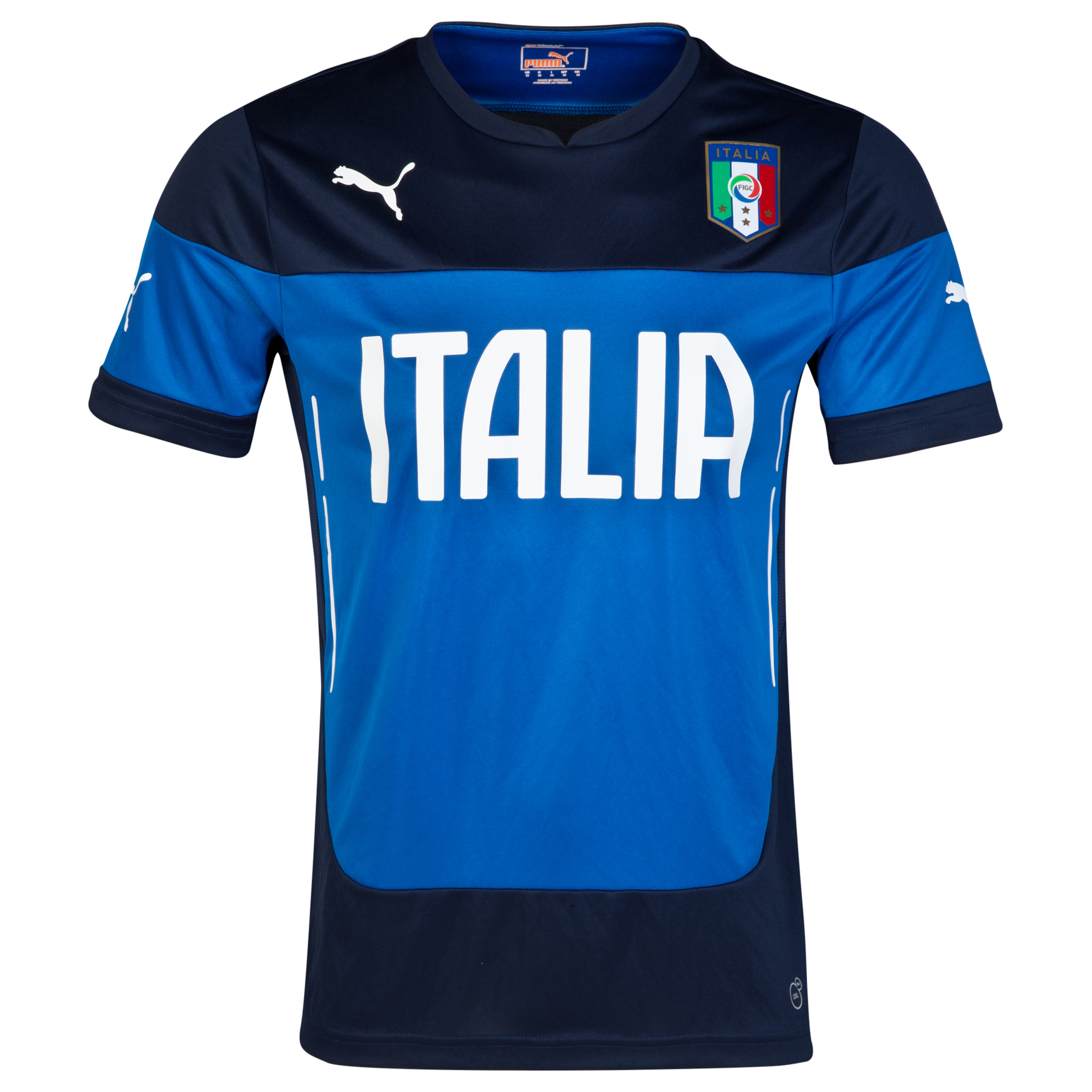 Italy Training Jersey - Blue Blue