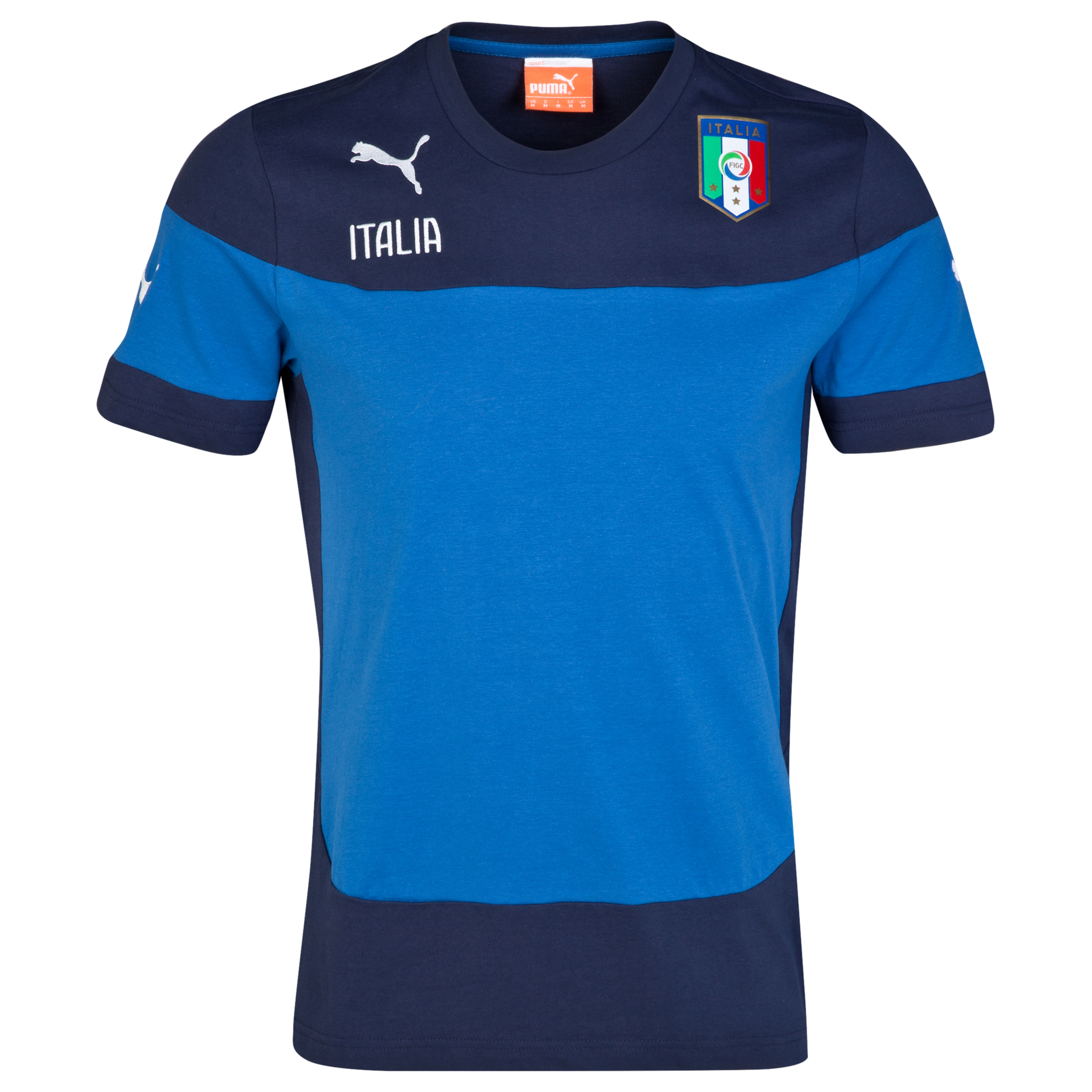 Italy Leisure T-Shirt - Blue