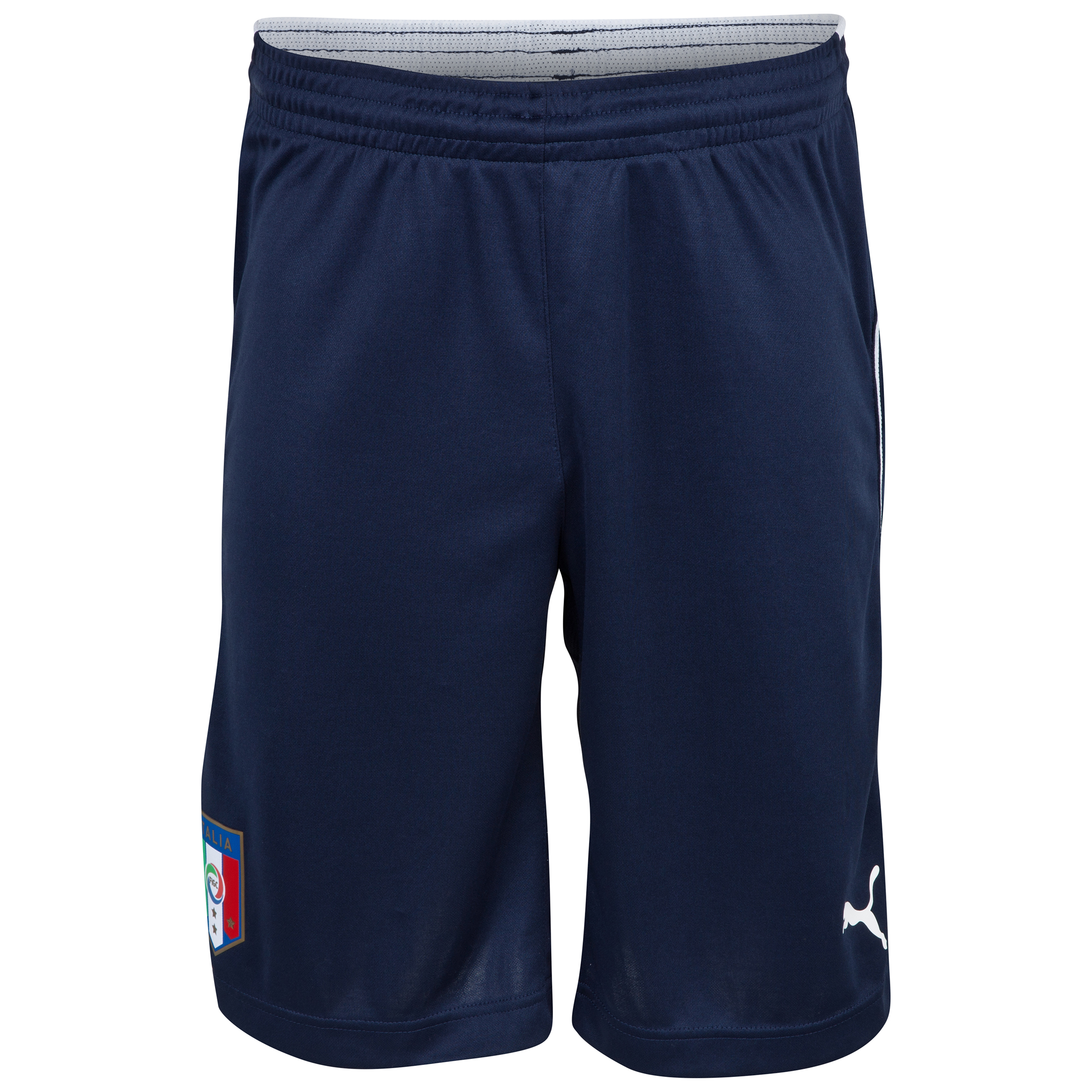 Italy Training Shorts - Blue Blue