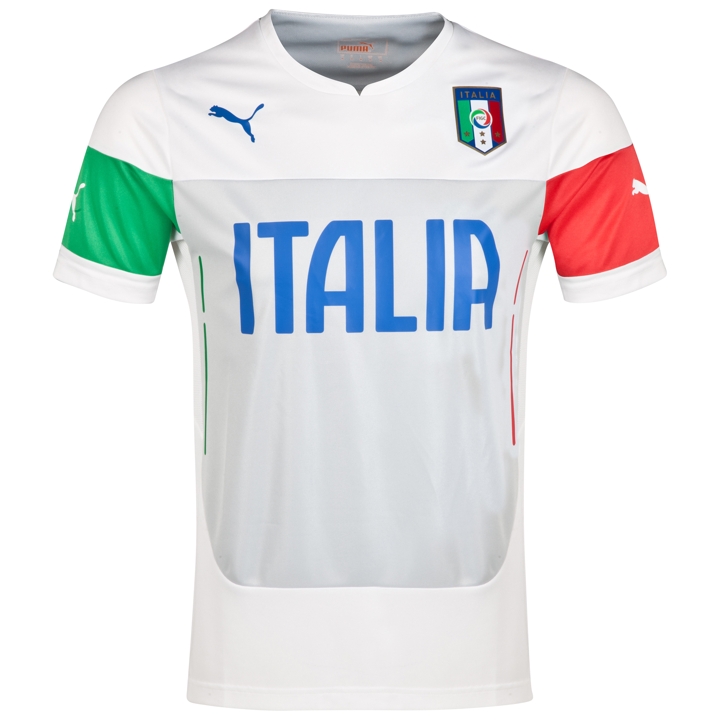 Italy Training Jersey - White