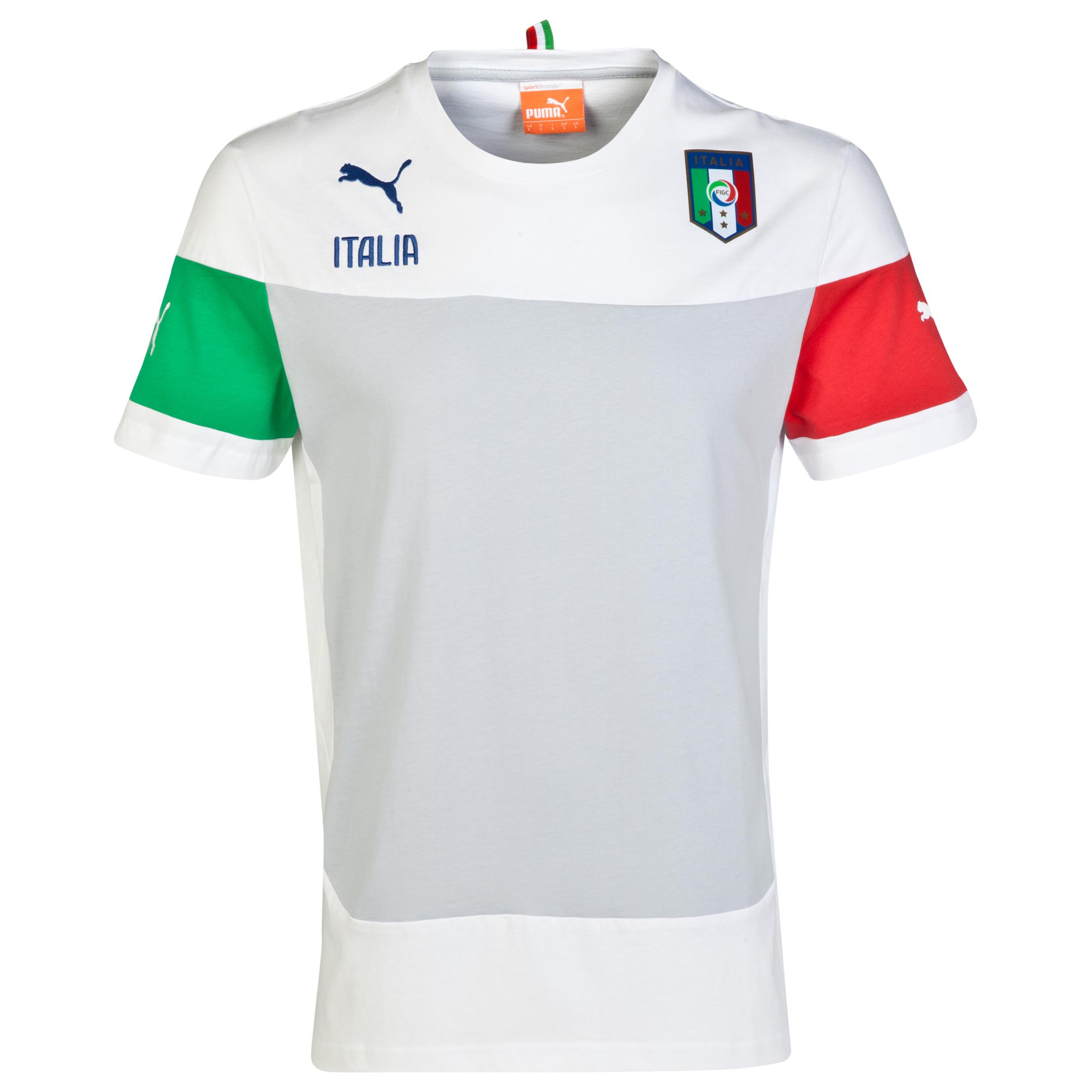 Italy Leisure T-Shirt - White