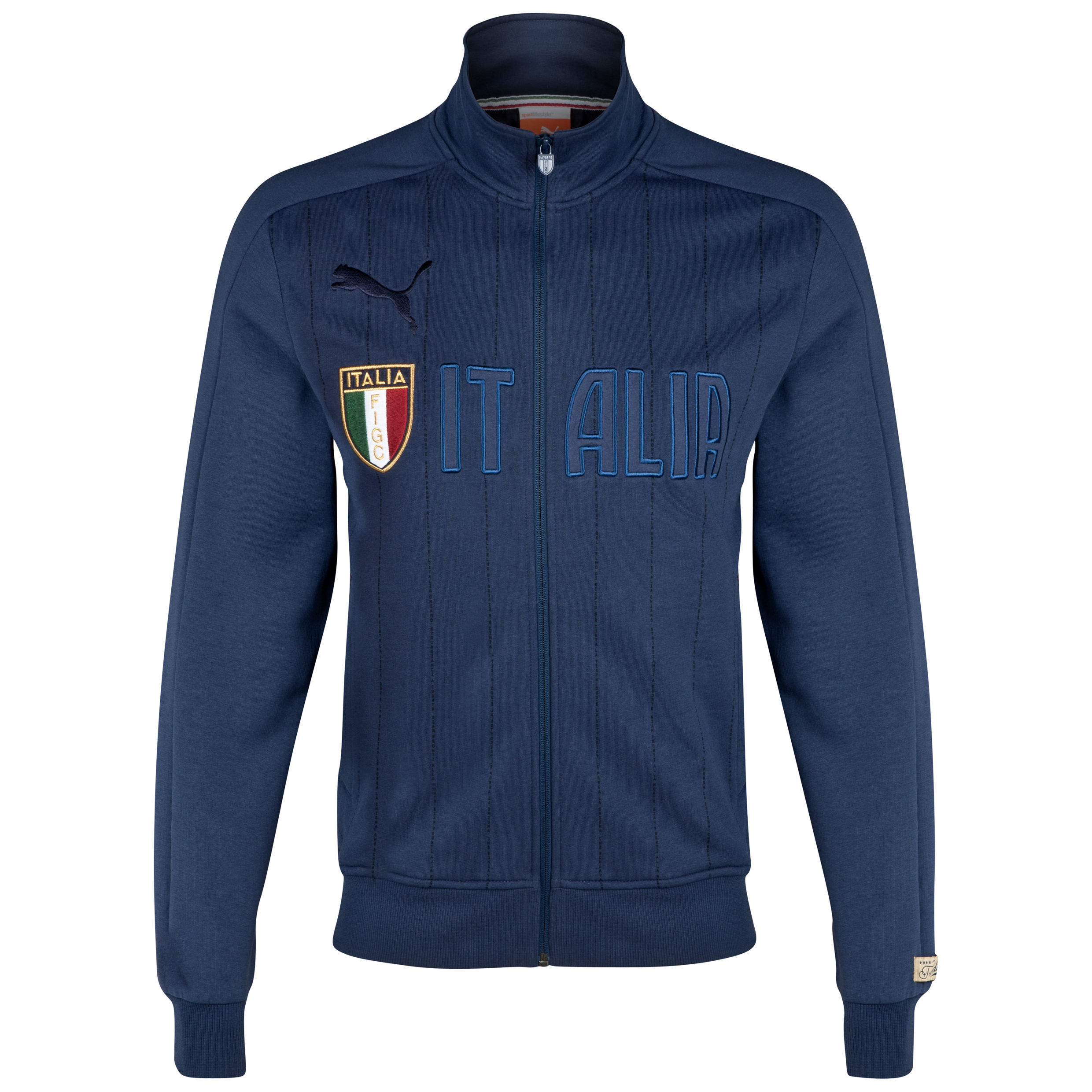Italy T7 Track Jacket - Indigo Purple