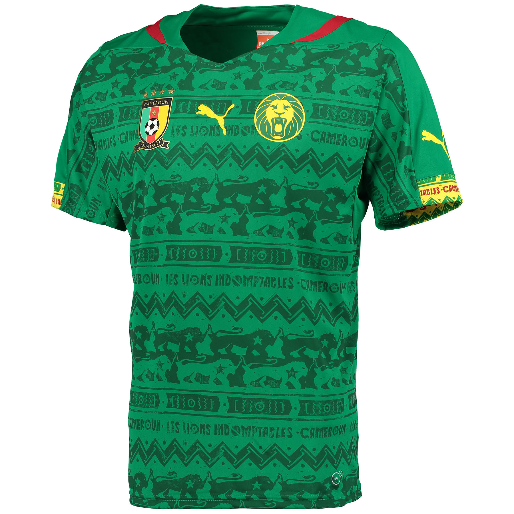 Cameroon Home Shirt 2014/15