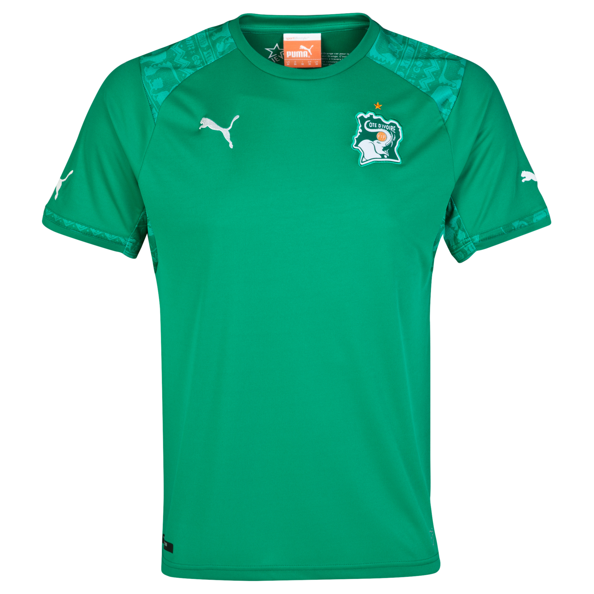 Ivory Coast Away Shirt 2014/15