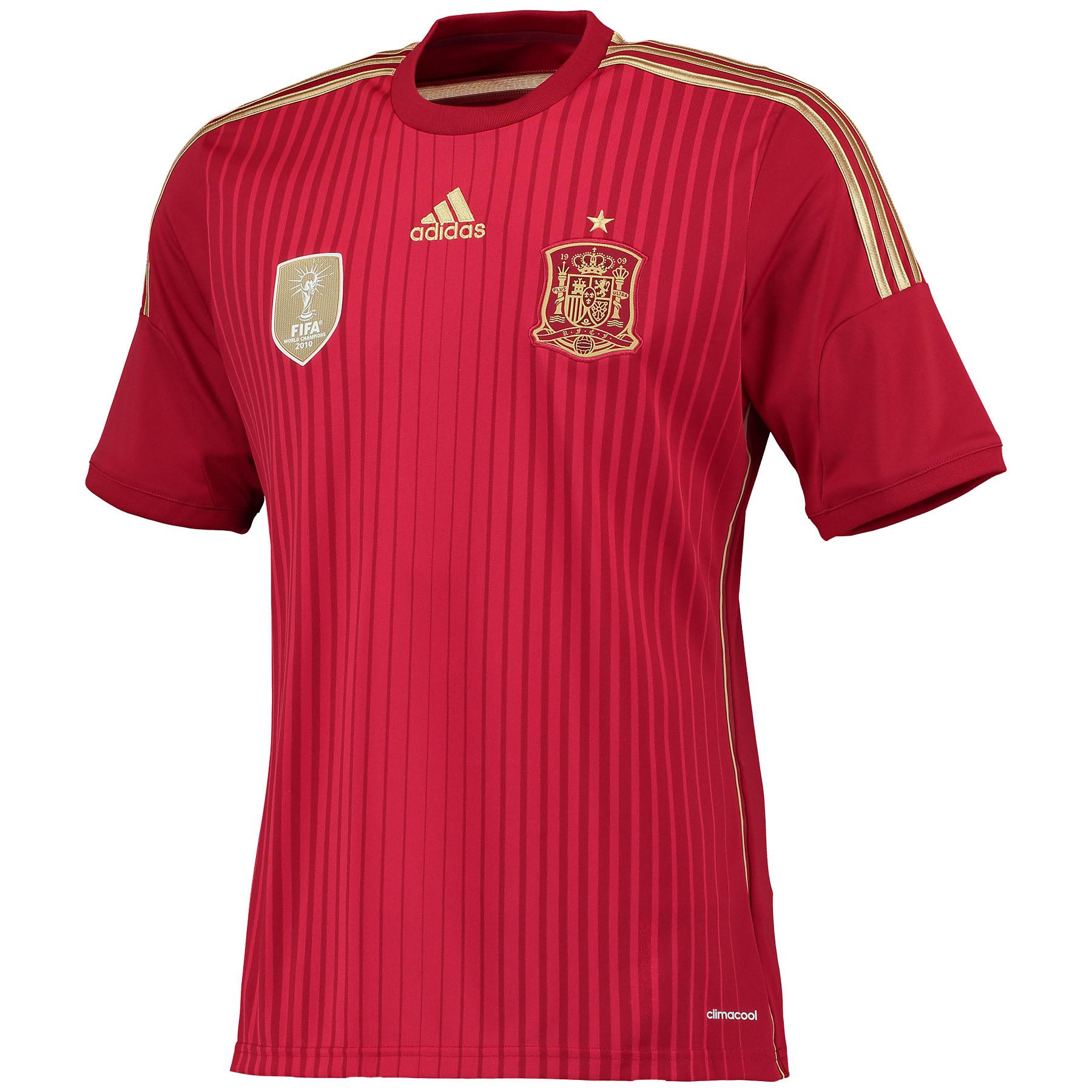 Spain Home Shirt 2014