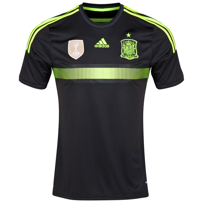 Spain Away Shirt 2014