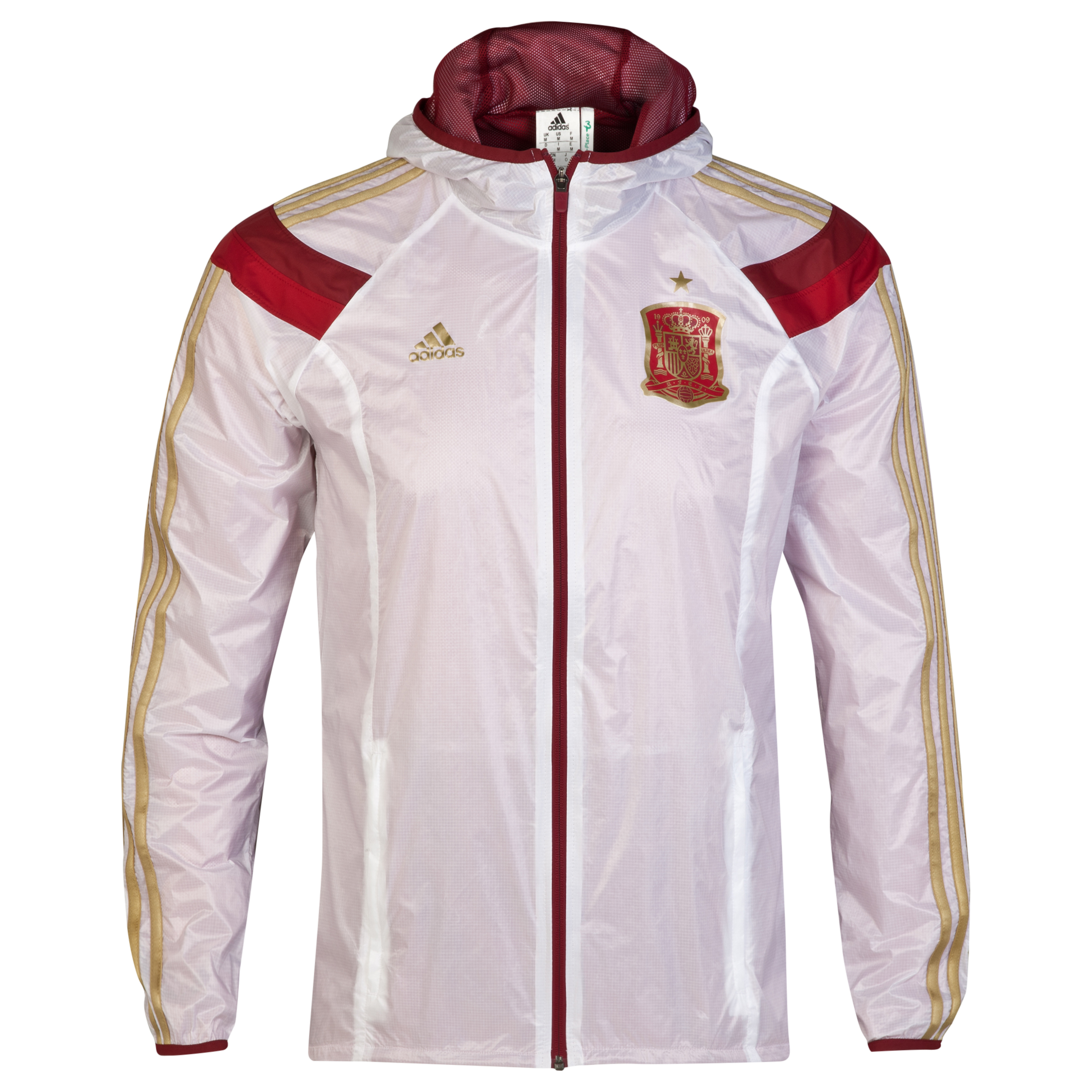 Spain Anthem Jacket - White/Red White