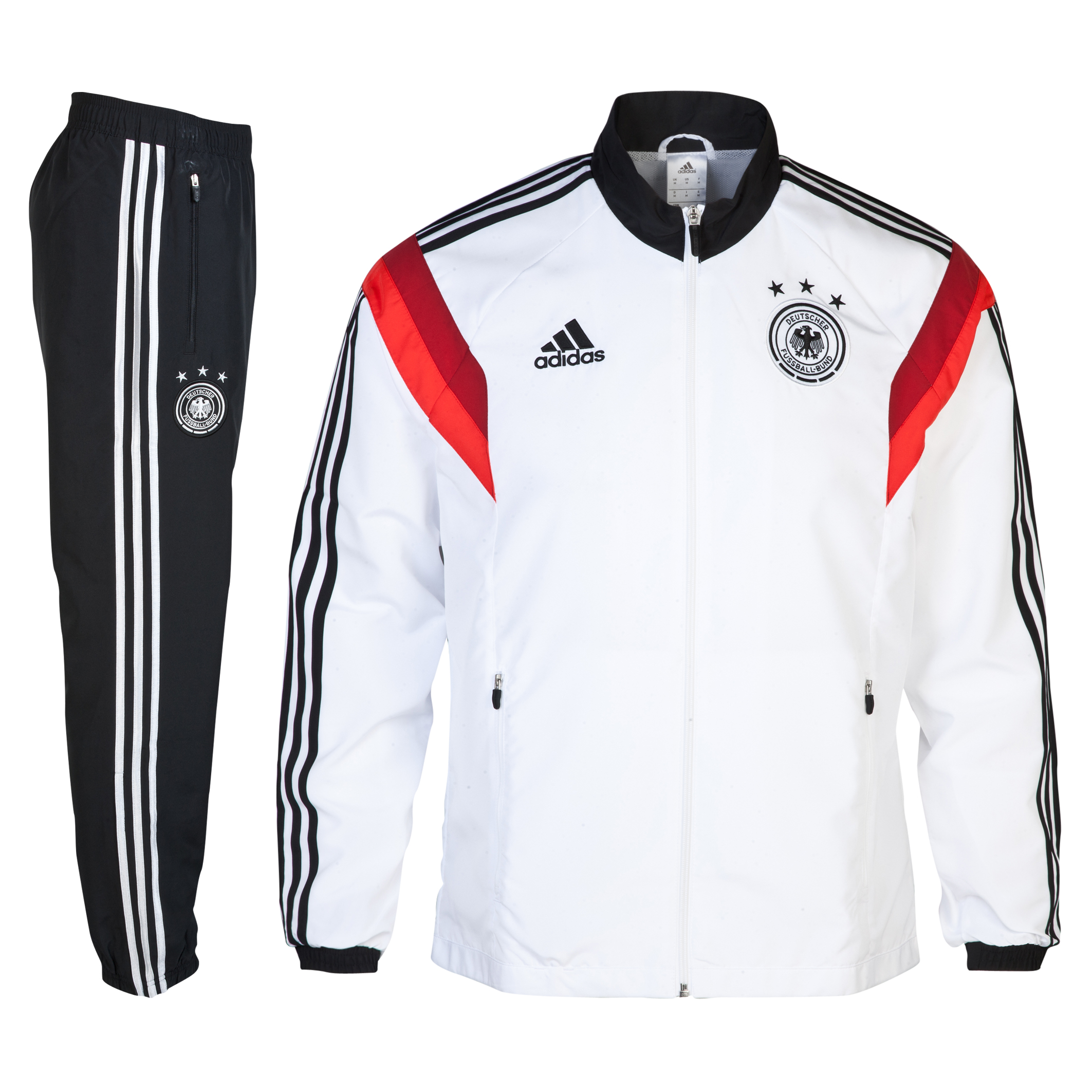 Germany Presentation Suit - White/Black