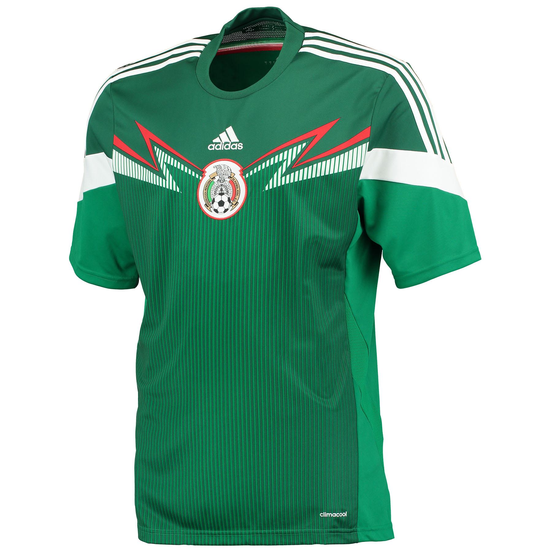 Mexico Home Shirt 2014