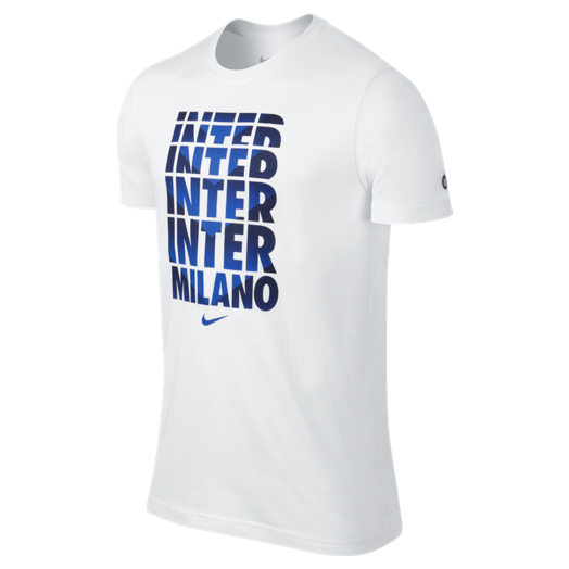 Inter Milan Core Type T-Shirt White