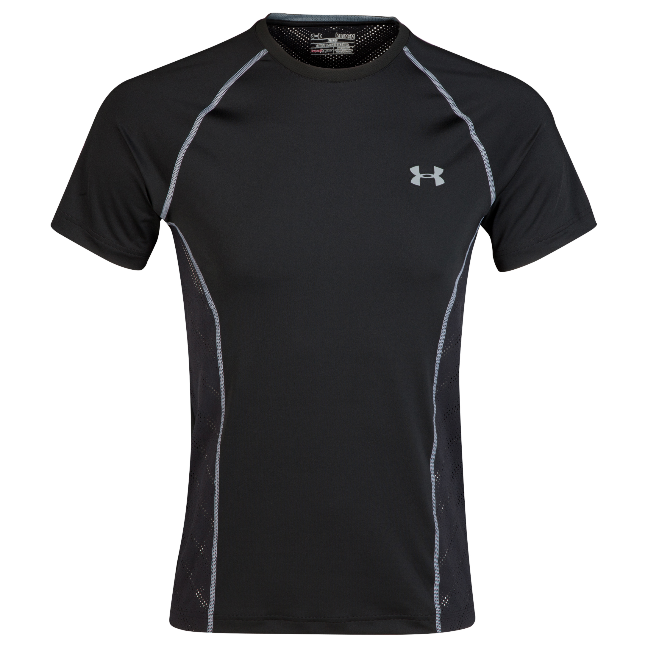 Under Armour Heatgear Sonic ArmourVent T-Shirt Black