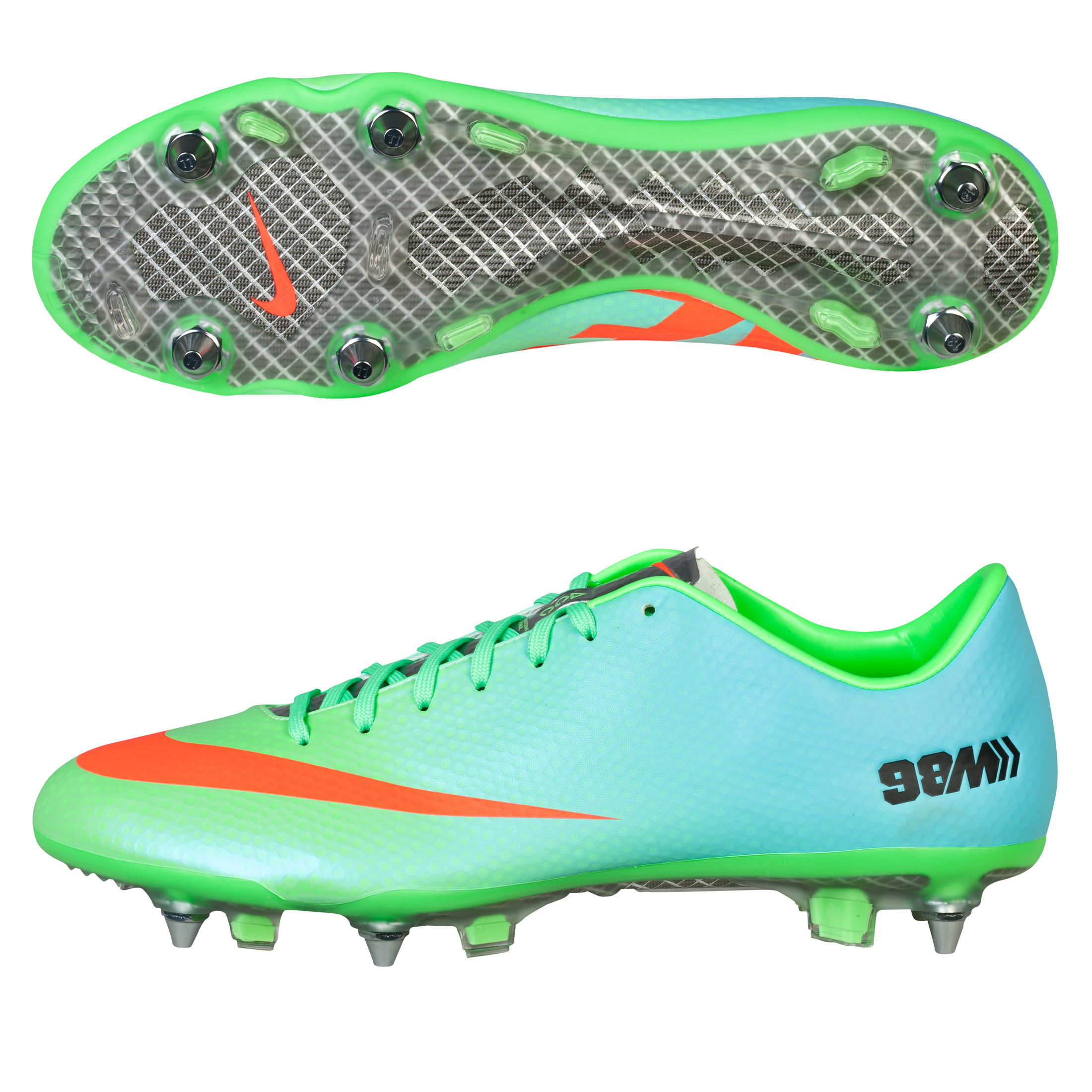 Nike Mercurial Vapor IX Soft Ground Pro Football Boots Green
