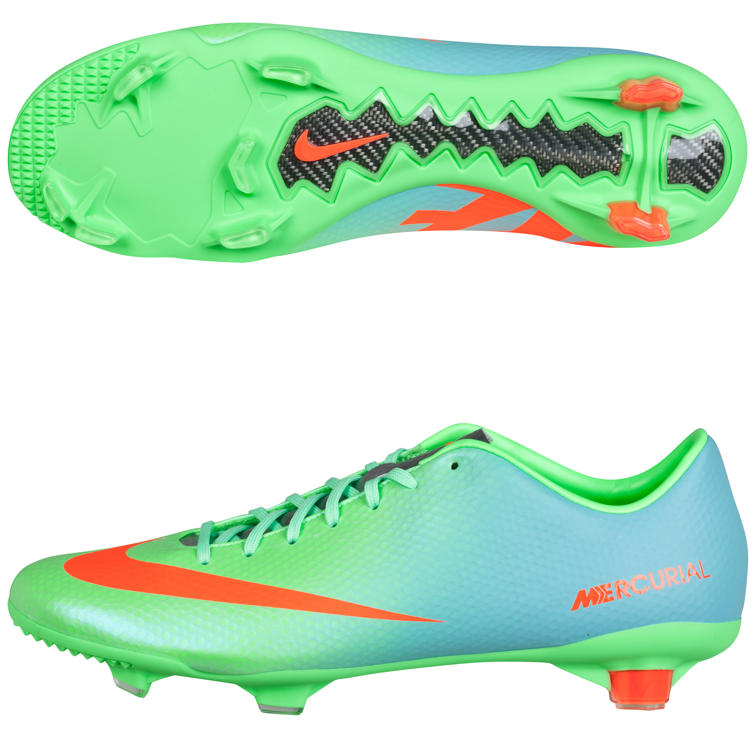 Nike Mercurial Veloce Firm Ground Football Boots Green